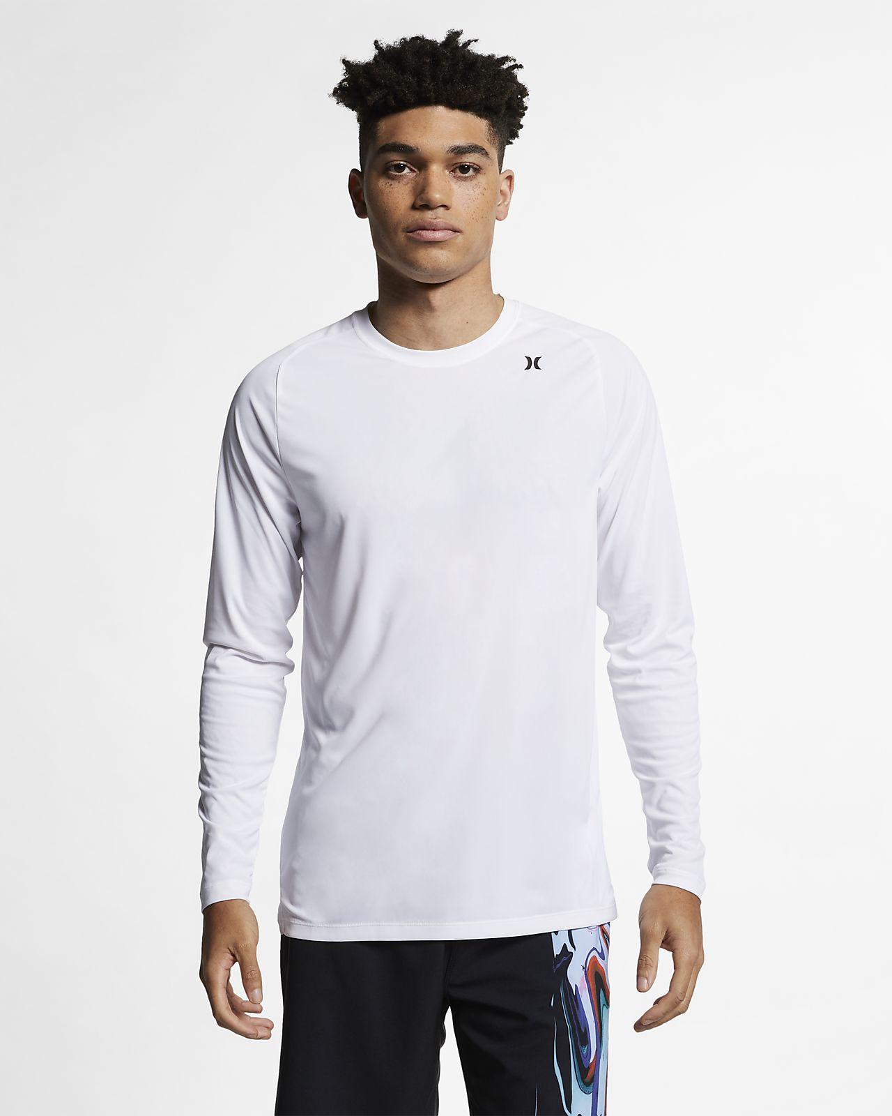 Hurley Quick Dry Langarm-T-Shirt für Herren