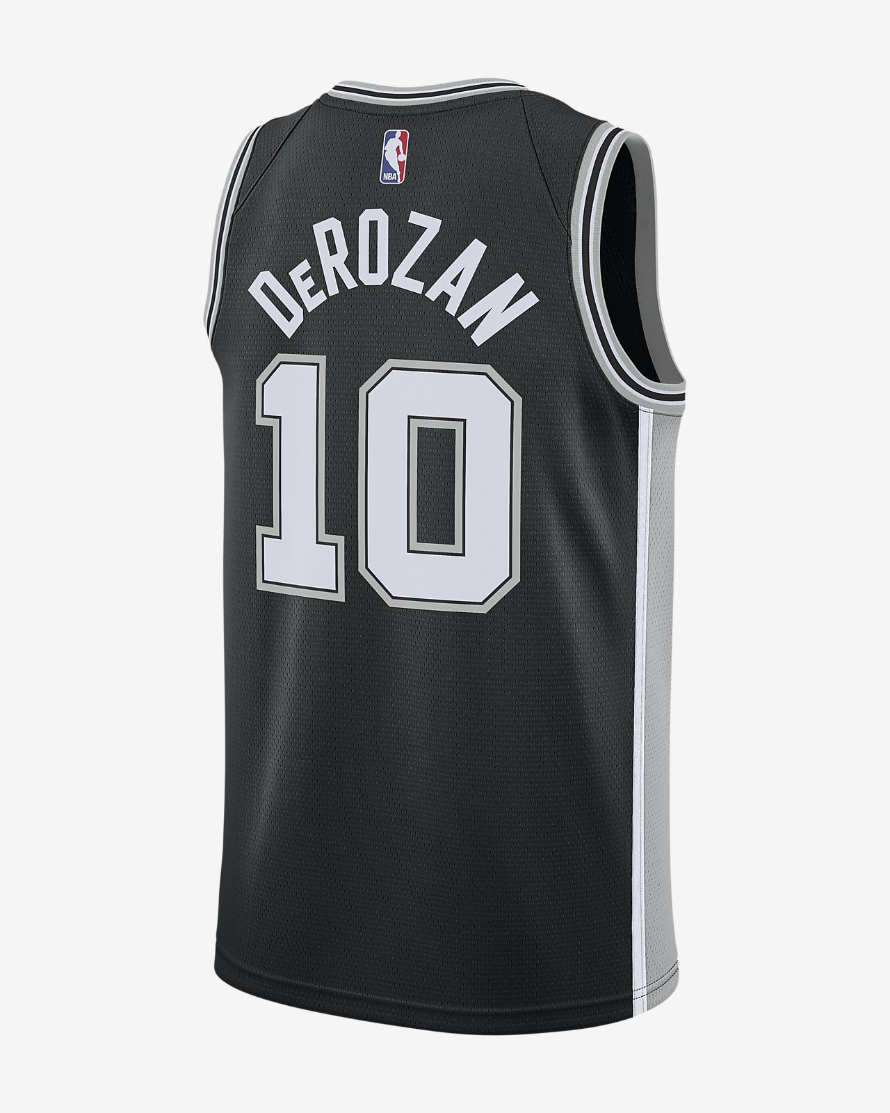 b9d0bc339bfe ... DeMar DeRozan Icon Edition Swingman (San Antonio Spurs) Men s Nike NBA  Connected Jersey