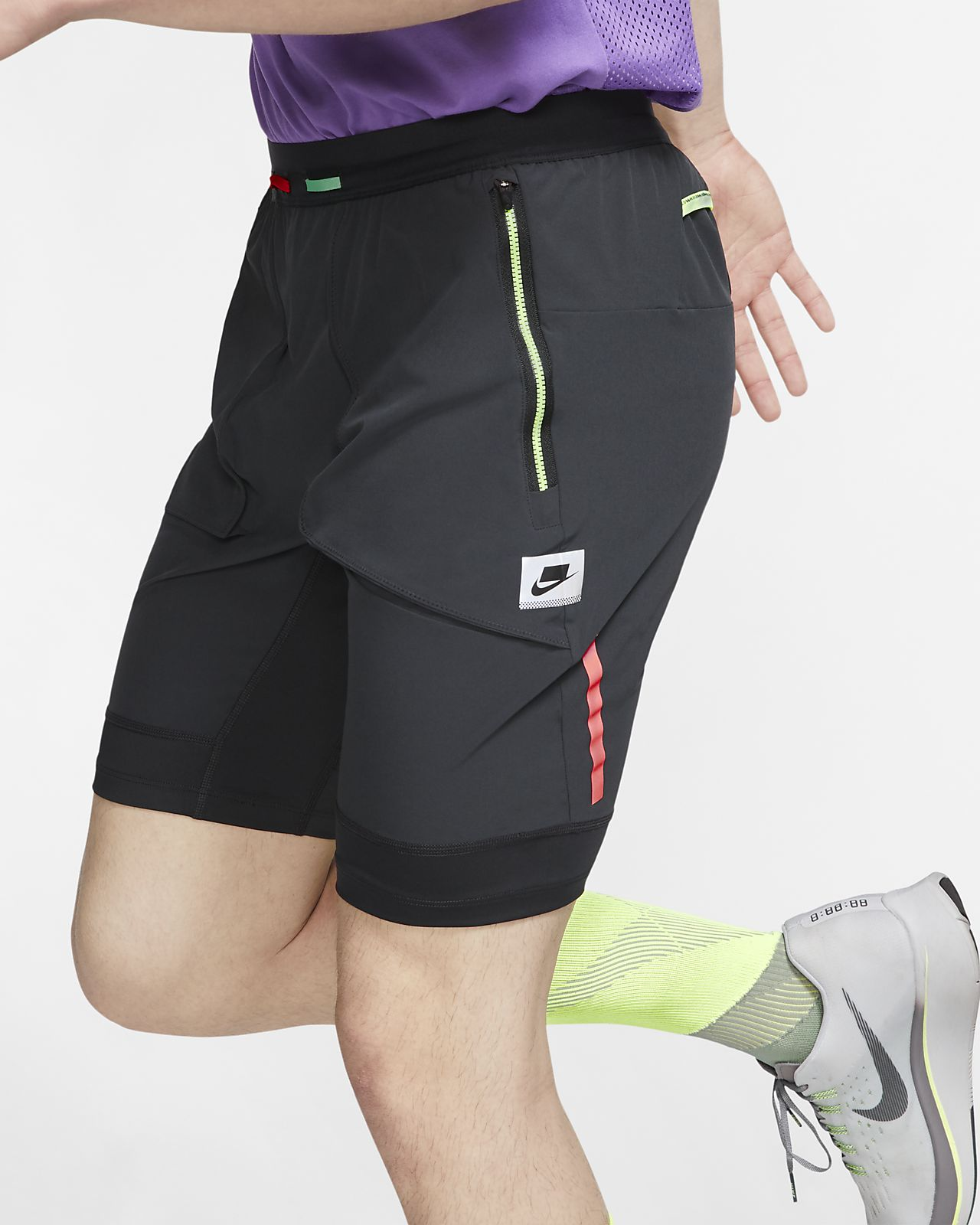 Nike Wild Run Men's Hybrid Running Shorts