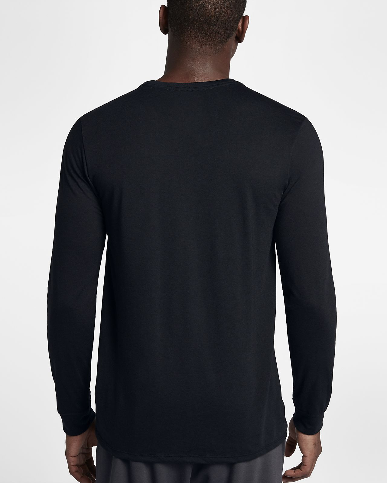 Nike Dri-FIT Men's Long Sleeve Basketball T-Shirt. Nike.com