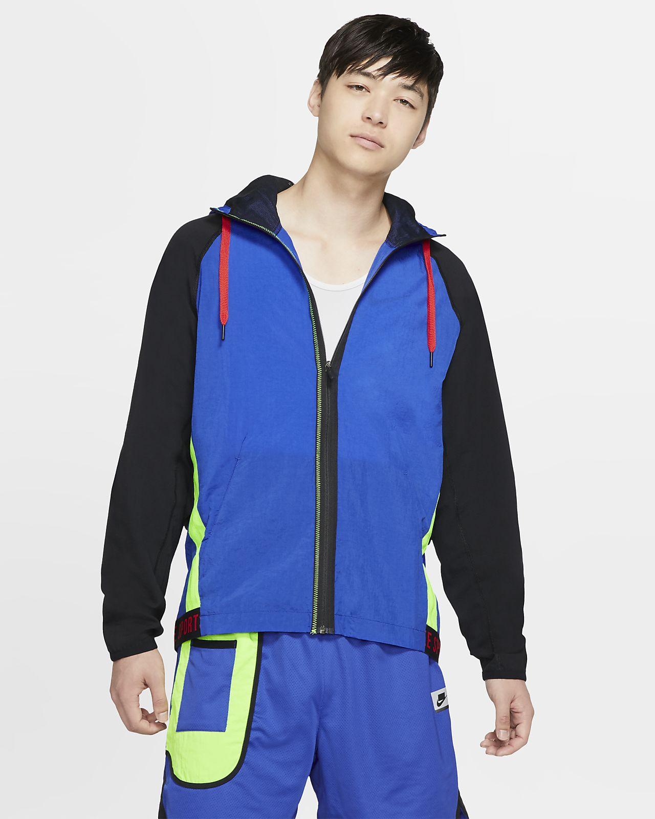 Nike Flex Sport Clash-træningsjakke med lynlås til mænd