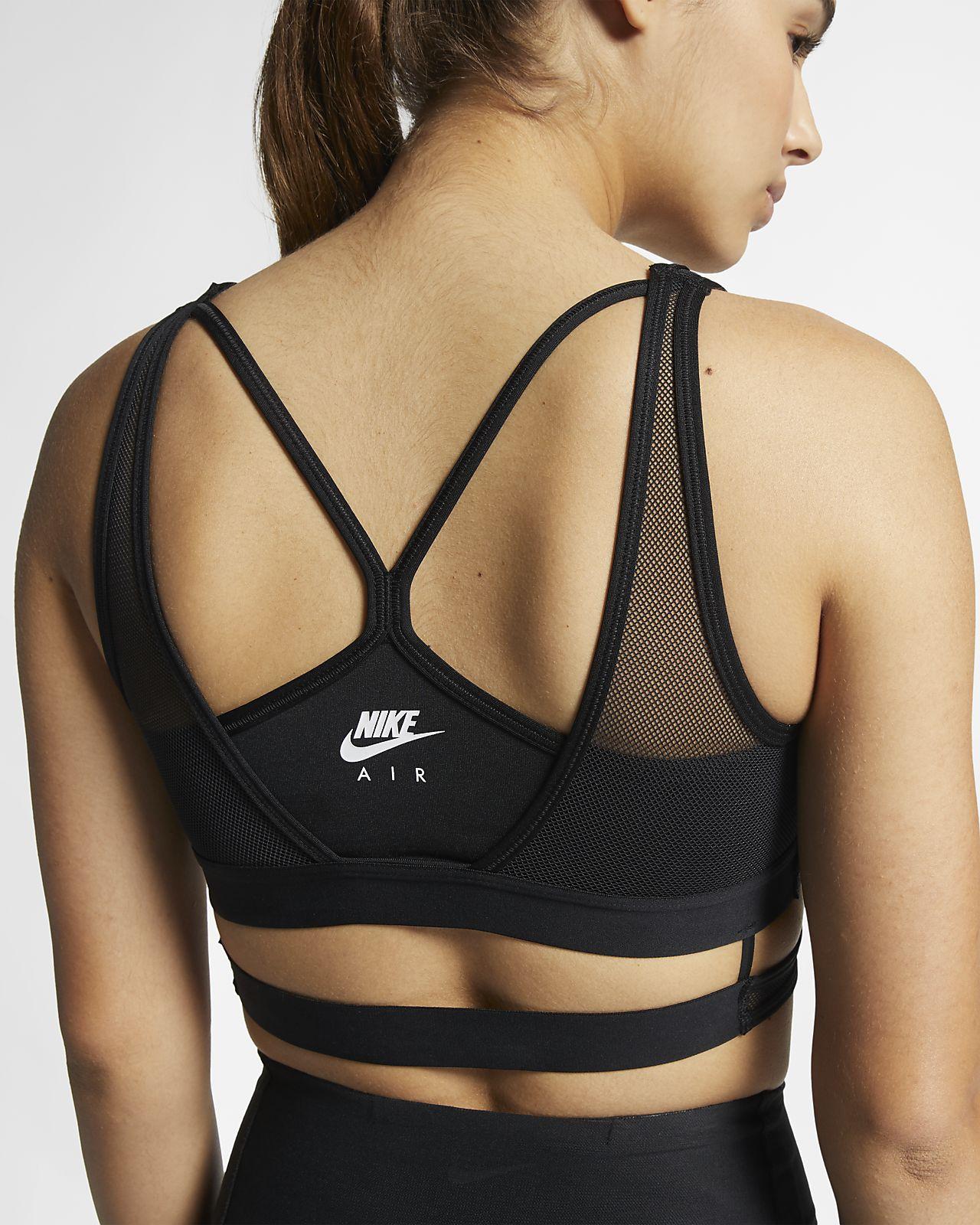 Brassière en mesh à maintien léger Nike Air pour Femme
