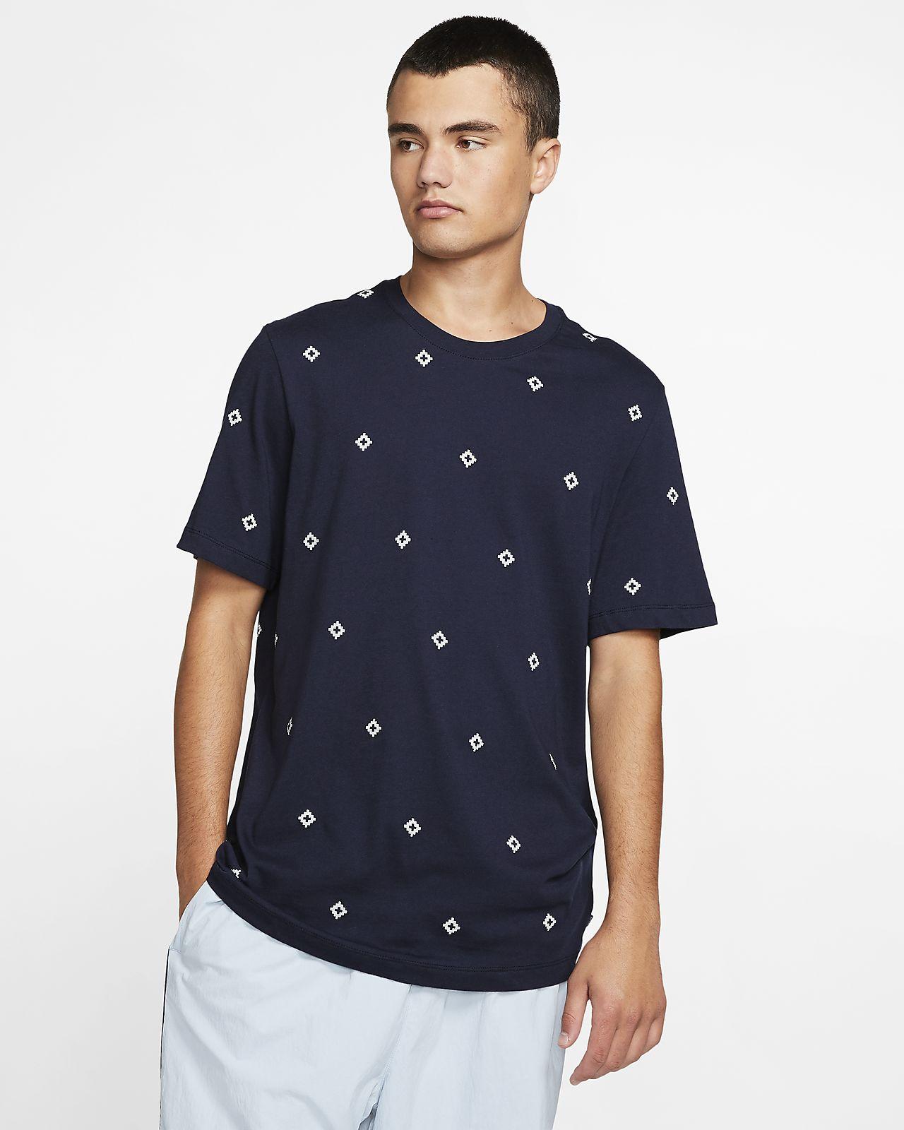Nike SB Baskılı Erkek Kaykay Tişörtü