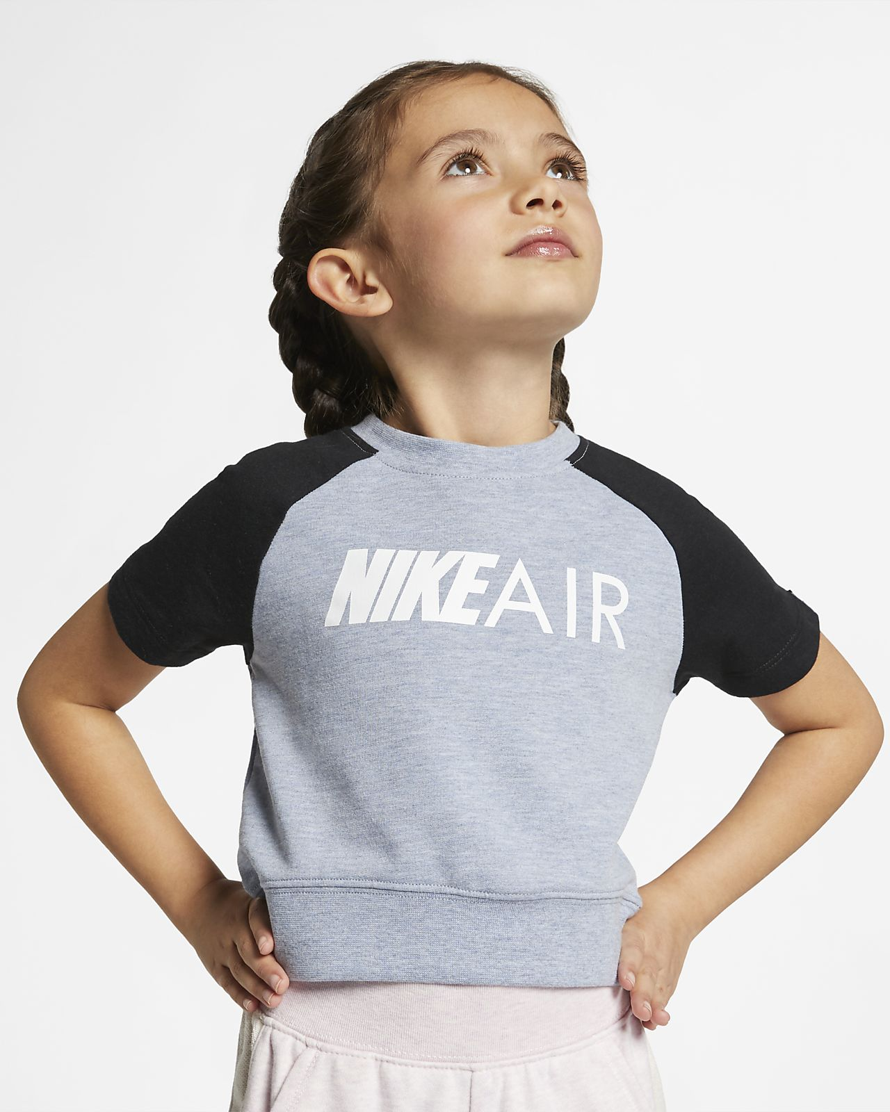 Nike Air Little Kids' Cropped Top