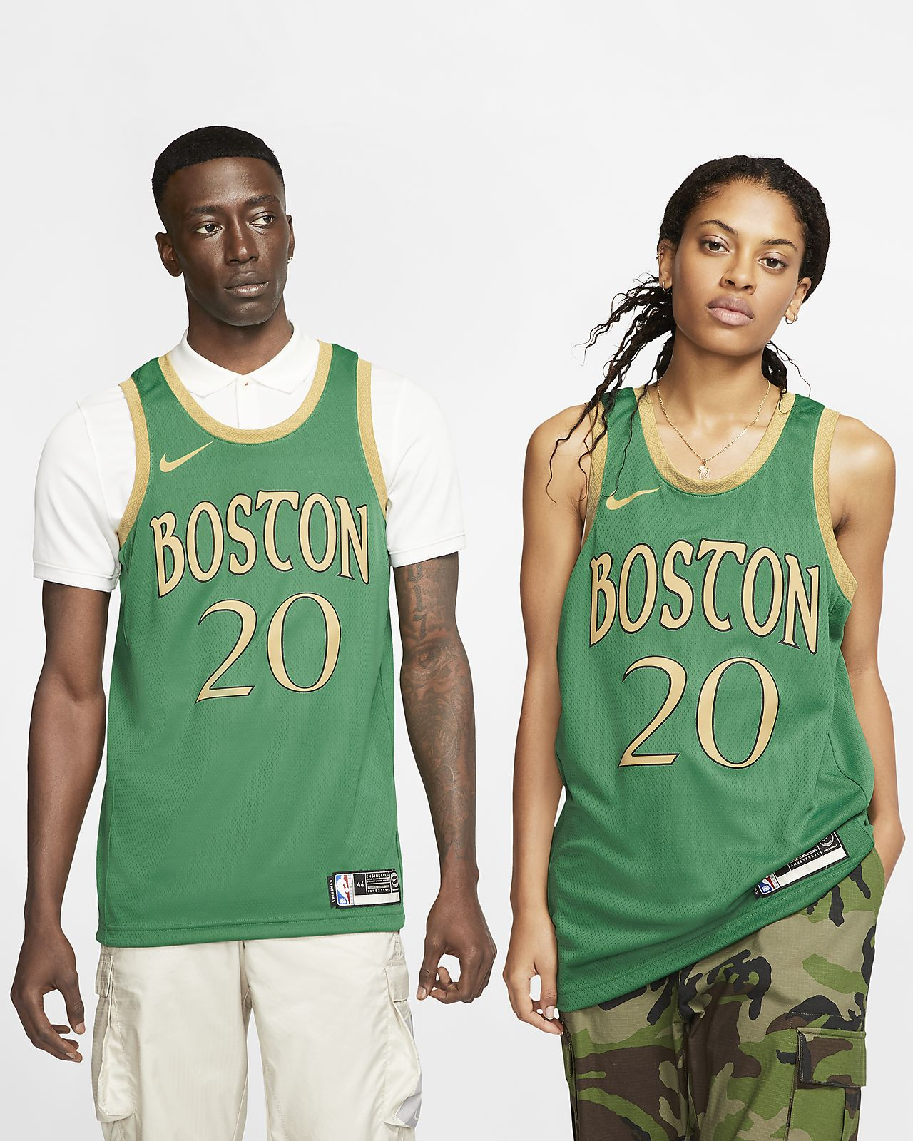 Maglia Gordon Hayward Celtics – City Edition Swingman Nike NBA