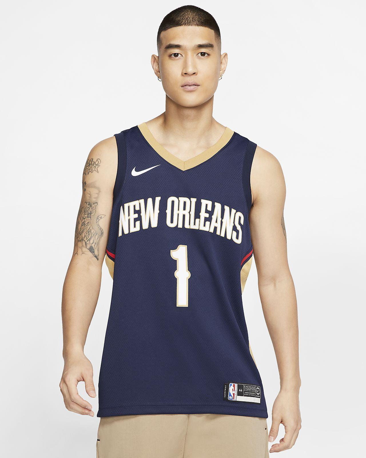 Zion Williamson Zion Williamson (NBA) Icon Edition Swingman (New Orleans Pelicans) Men's Nike NBA Connected Jersey