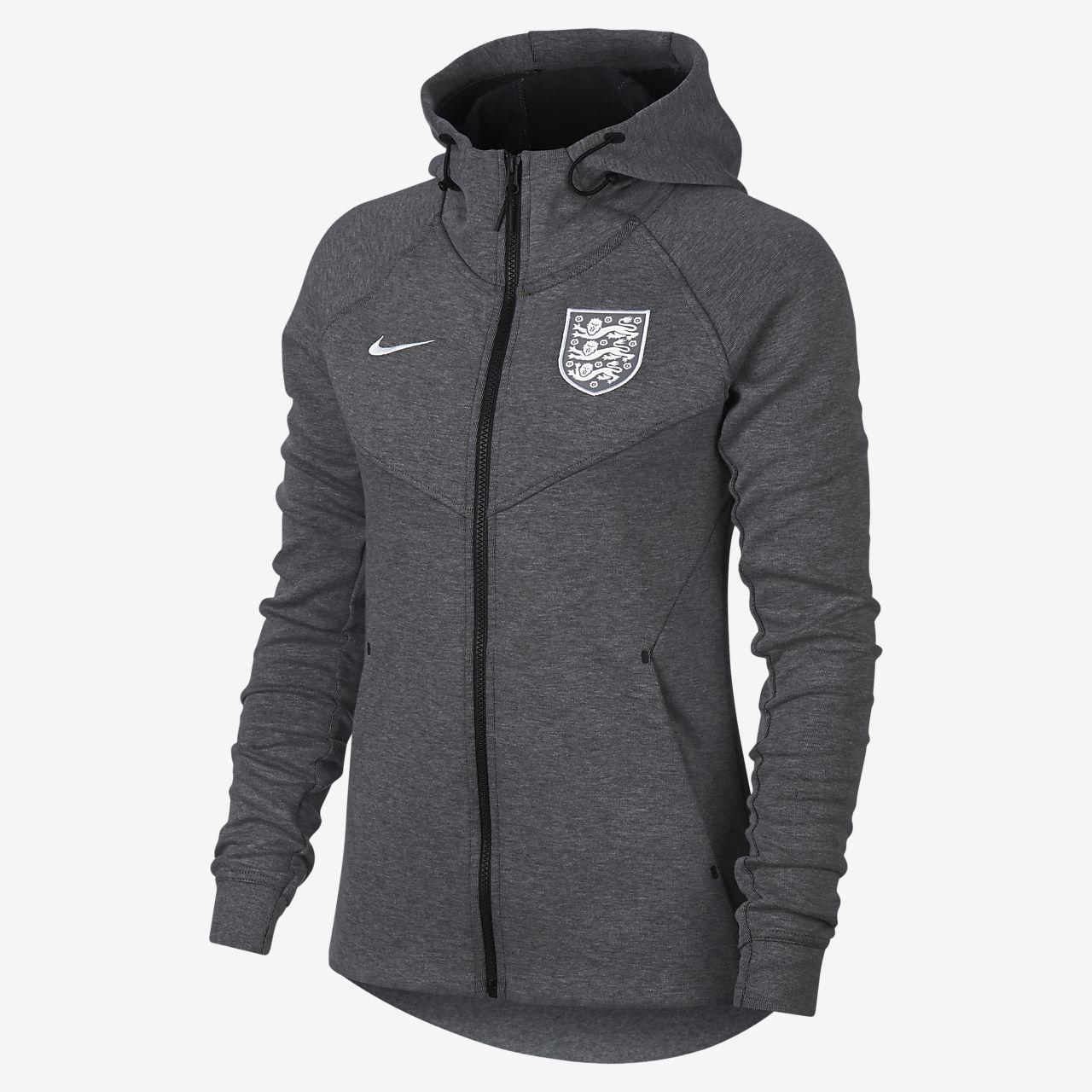 England Tech Fleece Women s Full-Zip Hoodie. Nike.com GB 97ccb87e6d9e