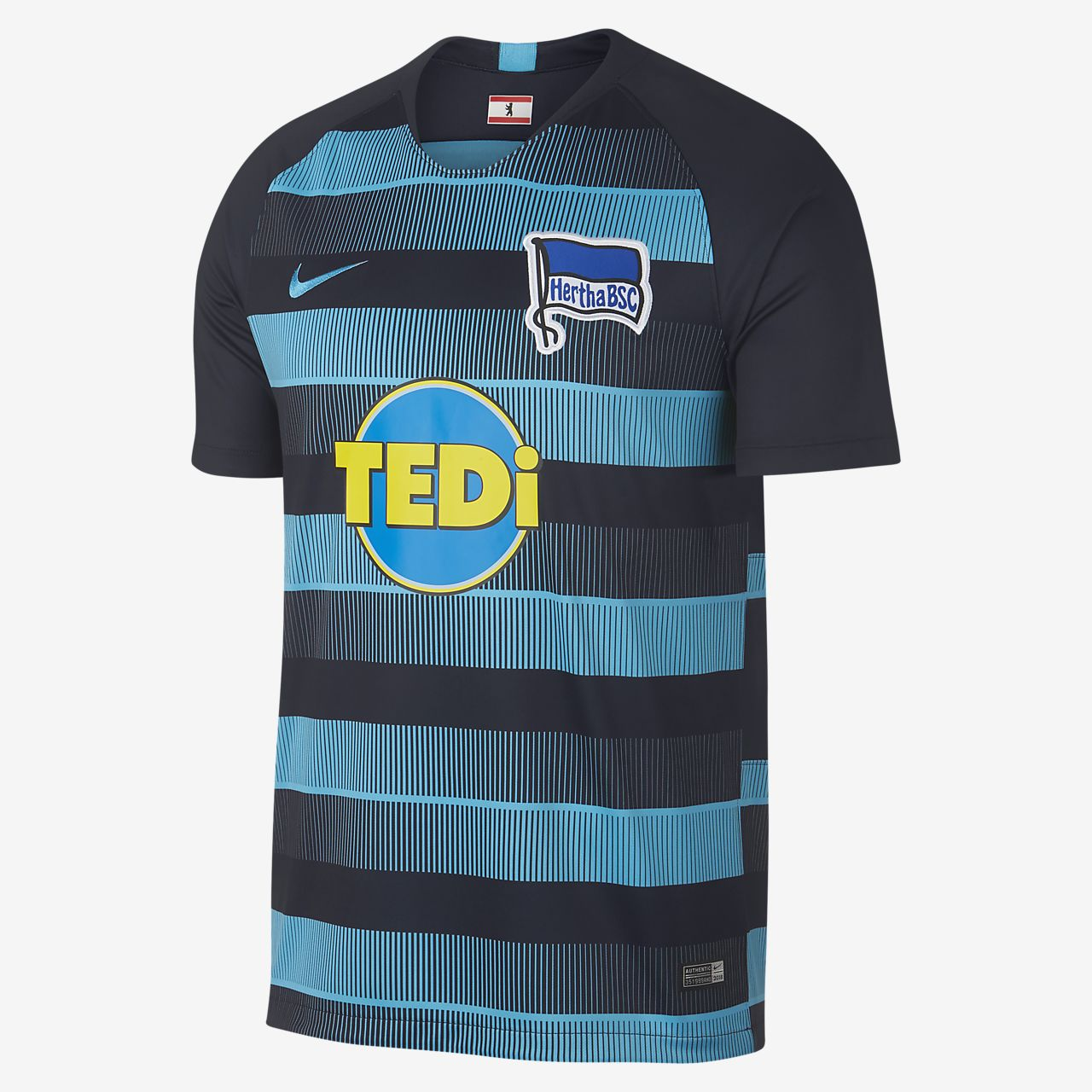 2018/19 Hertha BSC Stadium Away Men's Football Shirt