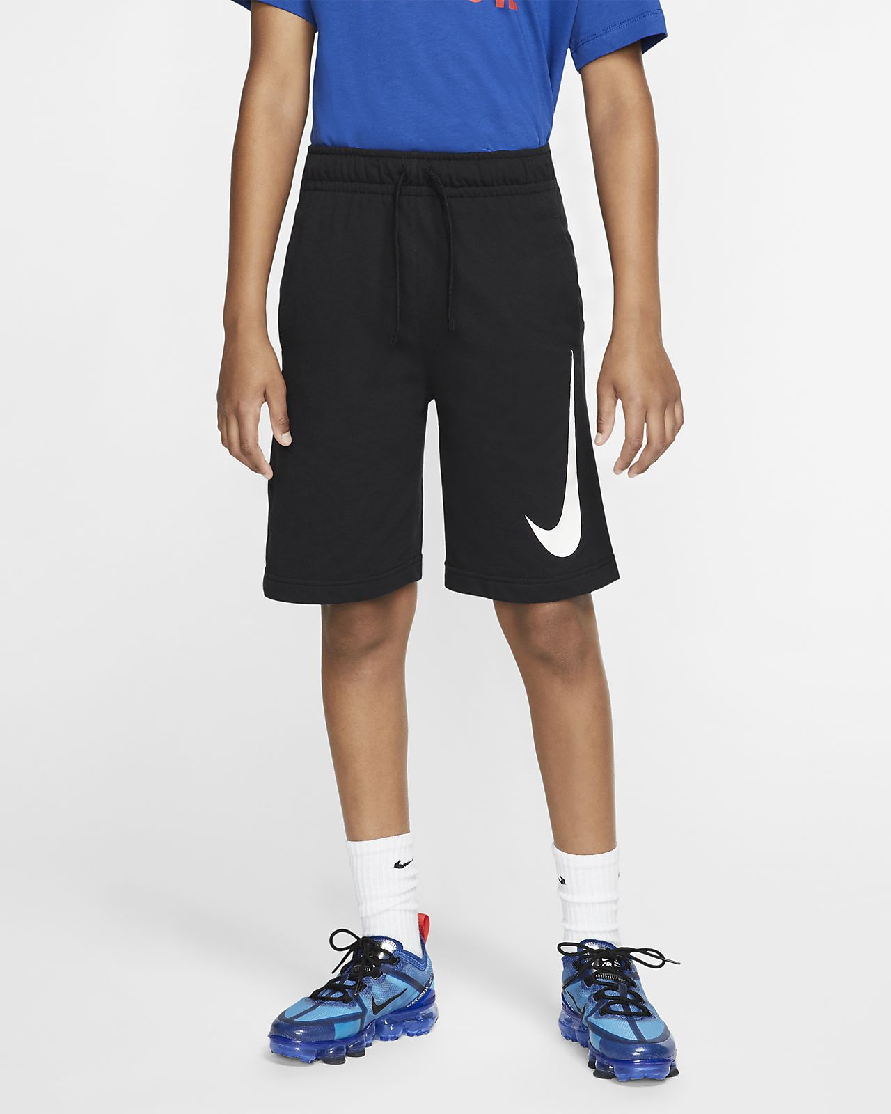 Nike Sportswear Pantalón corto de tejido French terry - Niño