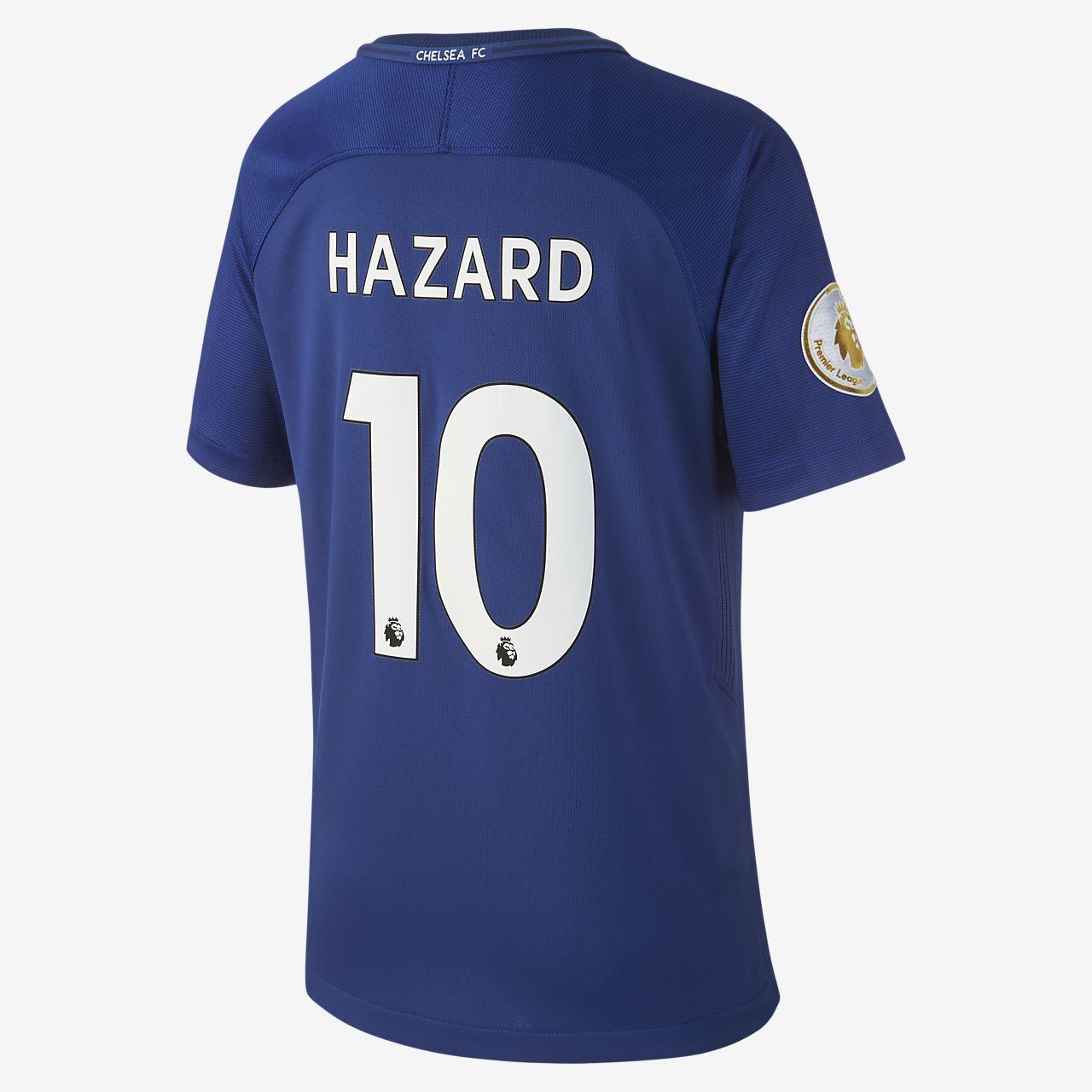 more photos cec08 39ac0 2017/18 Chelsea FC Stadium Home (Eden Hazard) Older Kids' Football Shirt