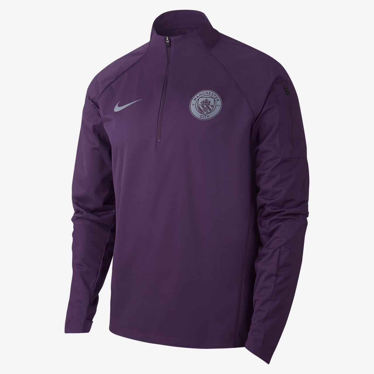 Nike Shield Manchester City FC Squad Men's Football Drill Top