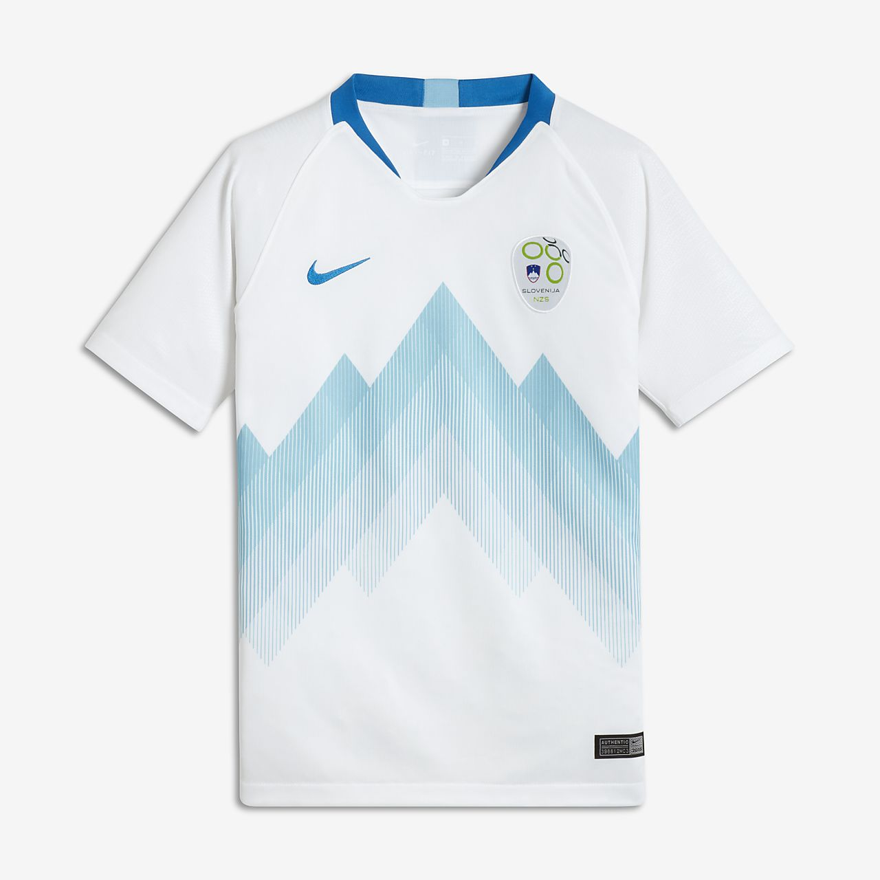 2018 Slovenia Stadium Home fotballdrakt for store barn