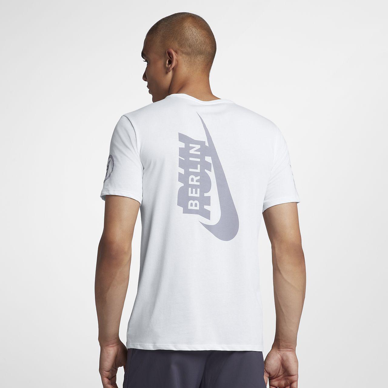 637e0172a8 Playera de running para hombre Nike Dri-FIT (Berlin 2018). Nike.com MX