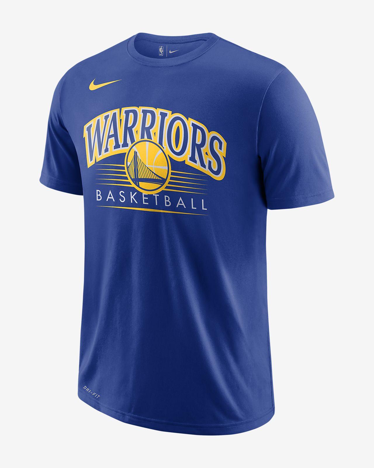 Golden State Warriors Nike Dri-FIT NBA-s férfipóló