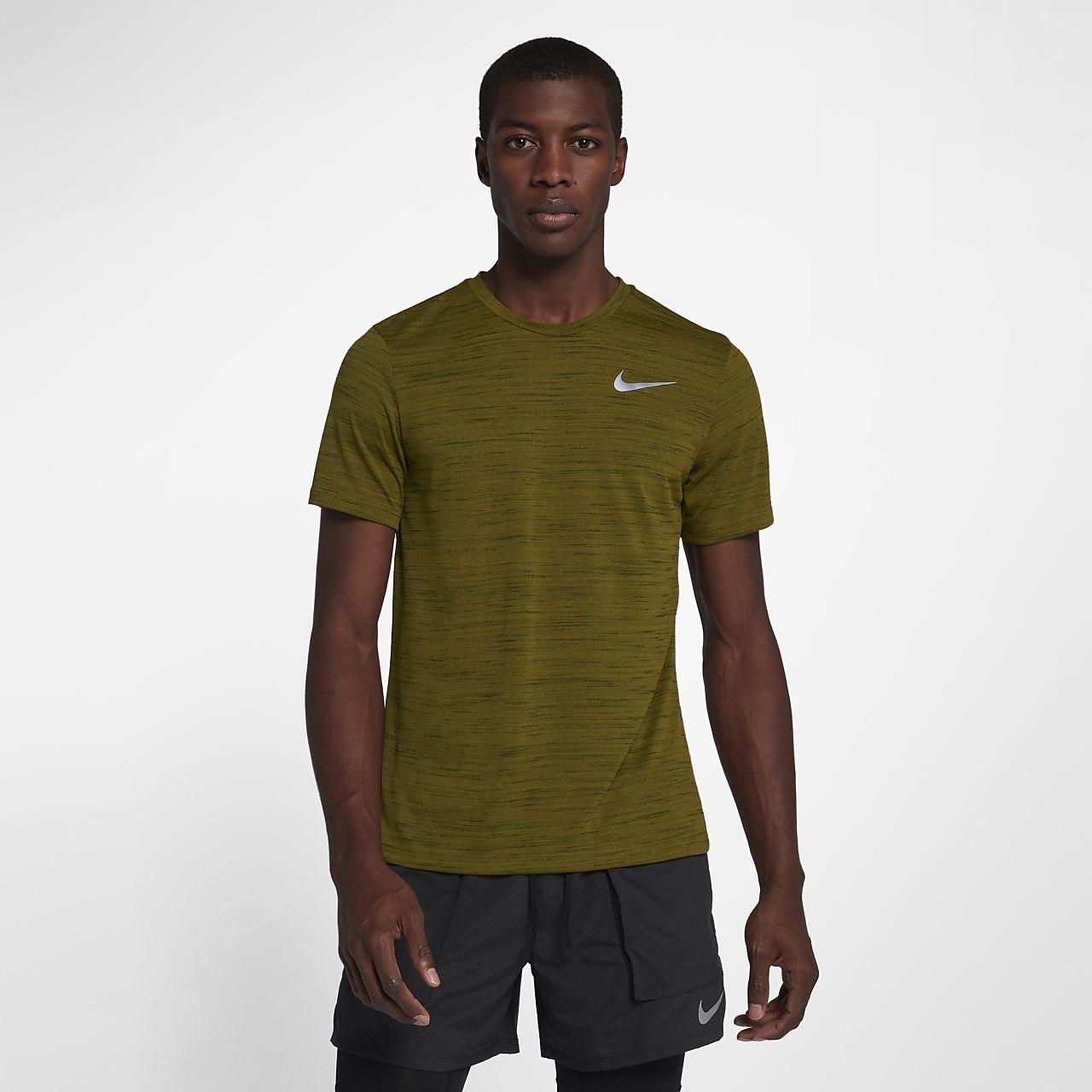 Nike Miler Essential Men's Short-Sleeve Running Top