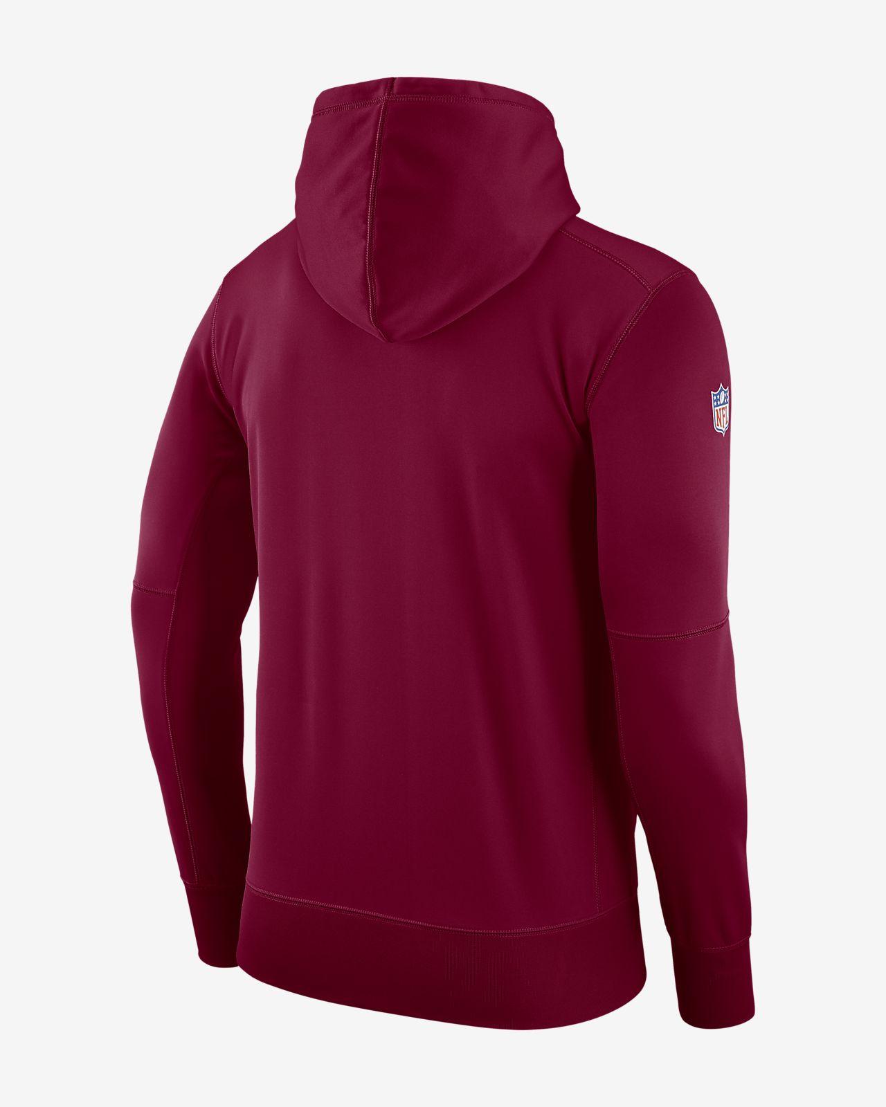 Nike Dri-FIT Therma (NFL Redskins) Men s Pullover Hoodie. Nike.com GB 81475aeaf