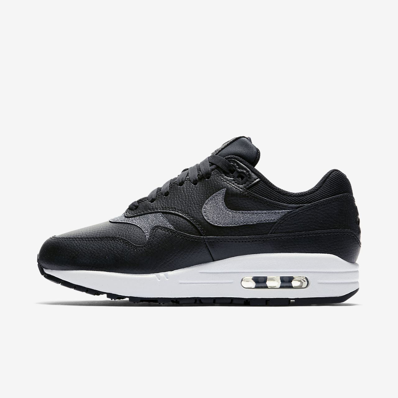 low priced 7d8a9 cc6ab ... Nike Air Max 1 SE Glitter Women s Shoe