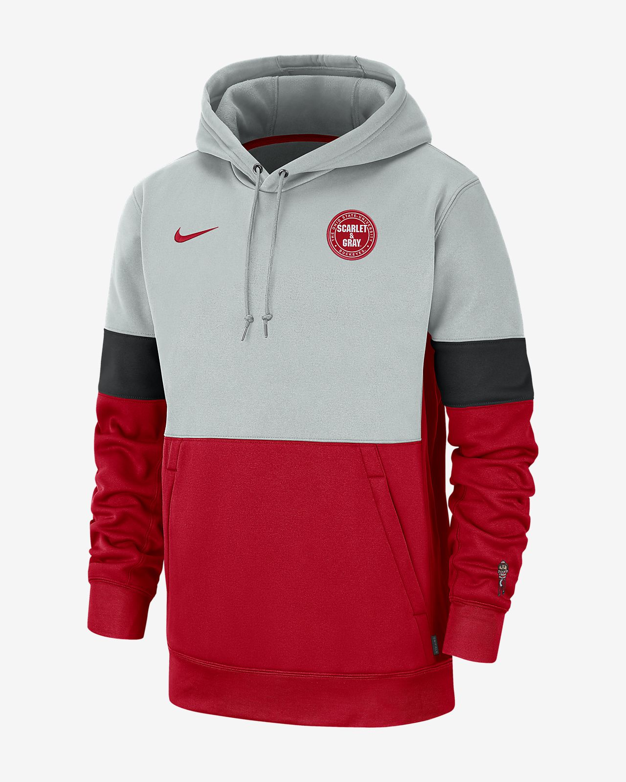 Nike College Therma (Ohio State) Men's Hoodie