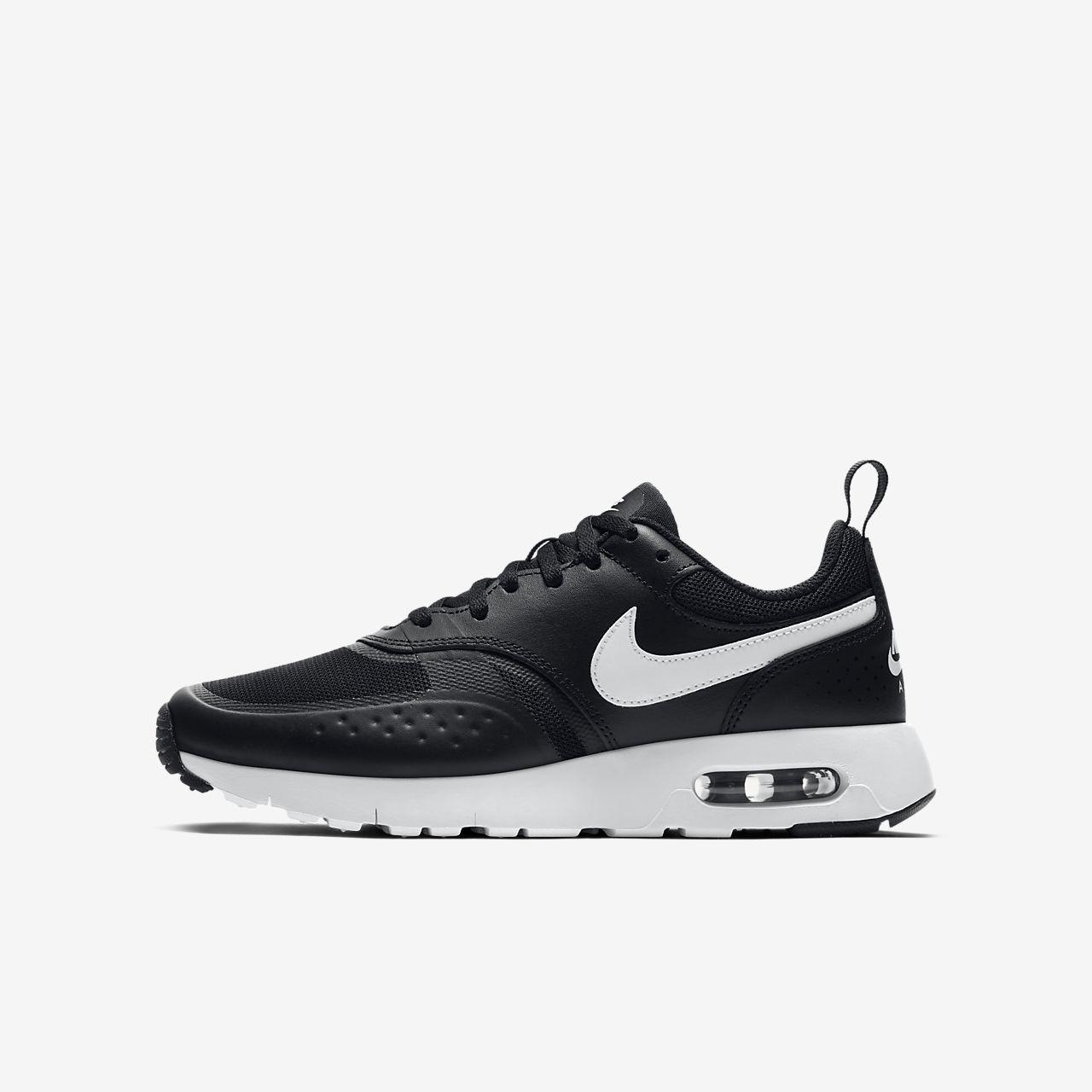 Nike Air Max Chaussures Vision Baskets Lo Blanc Noir Blanc Gris Noir rALg6rN