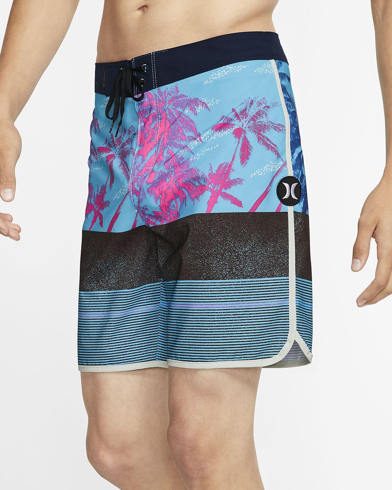"Hurley Phantom King Palm Men's 18"" Board Shorts"
