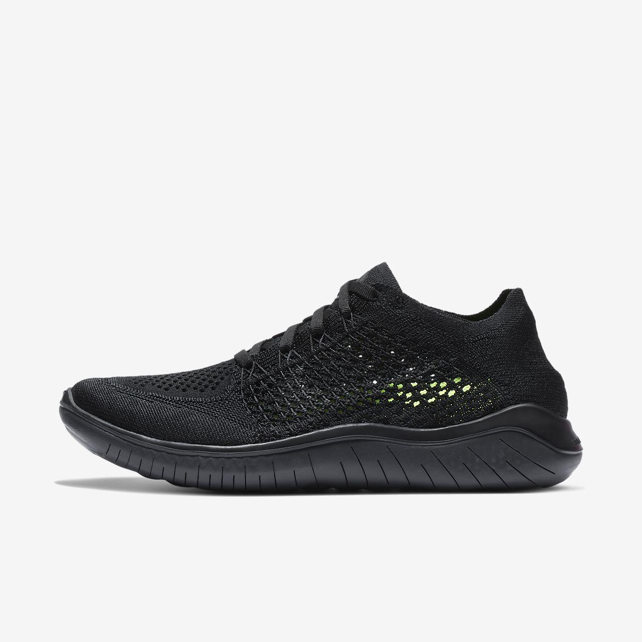 Wmns Nike Libre Rn Flyknit 2018 - Chaussures Pour Femmes / Noir Nike tXIiQTJY
