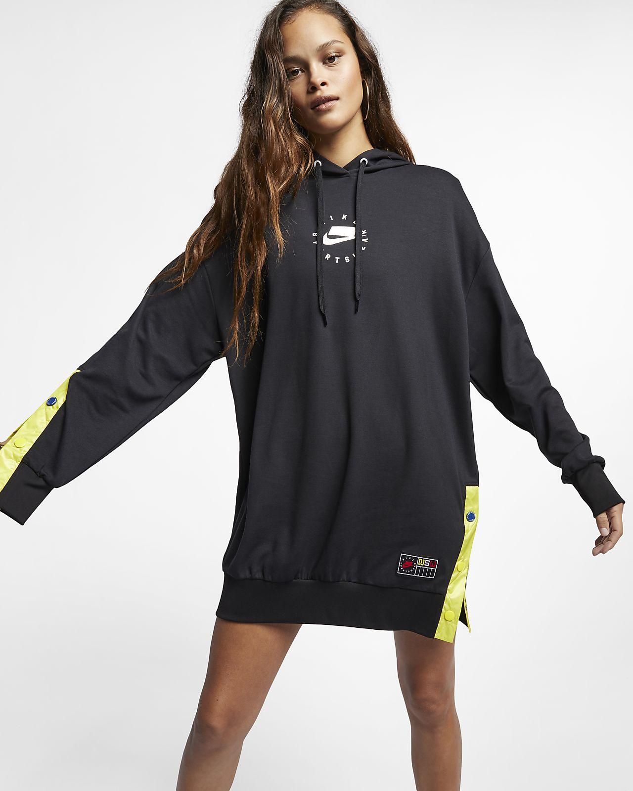3992cca1e55 Nike Sportswear NSW Women s Hoodie Dress. Nike.com GB