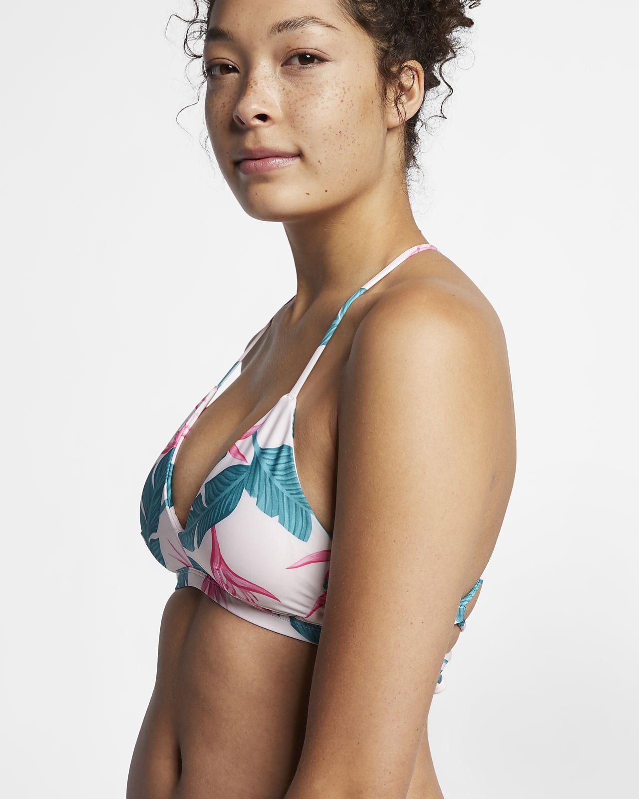 Sutiã de bikini de surf Hurley Quick Dry Hanoi para mulher