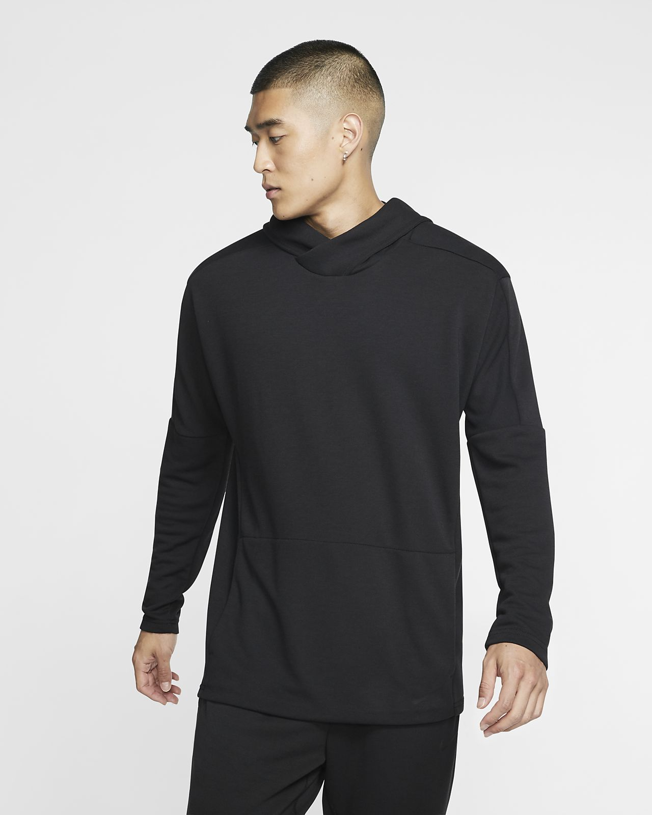 Nike Yoga Dri-FIT Erkek Kapüşonlu Sweatshirt'ü