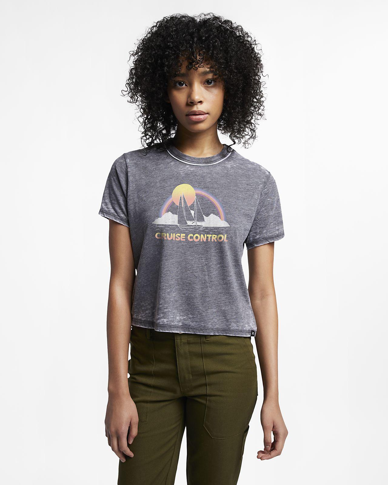 Hurley Cruise Control T-shirt voor dames