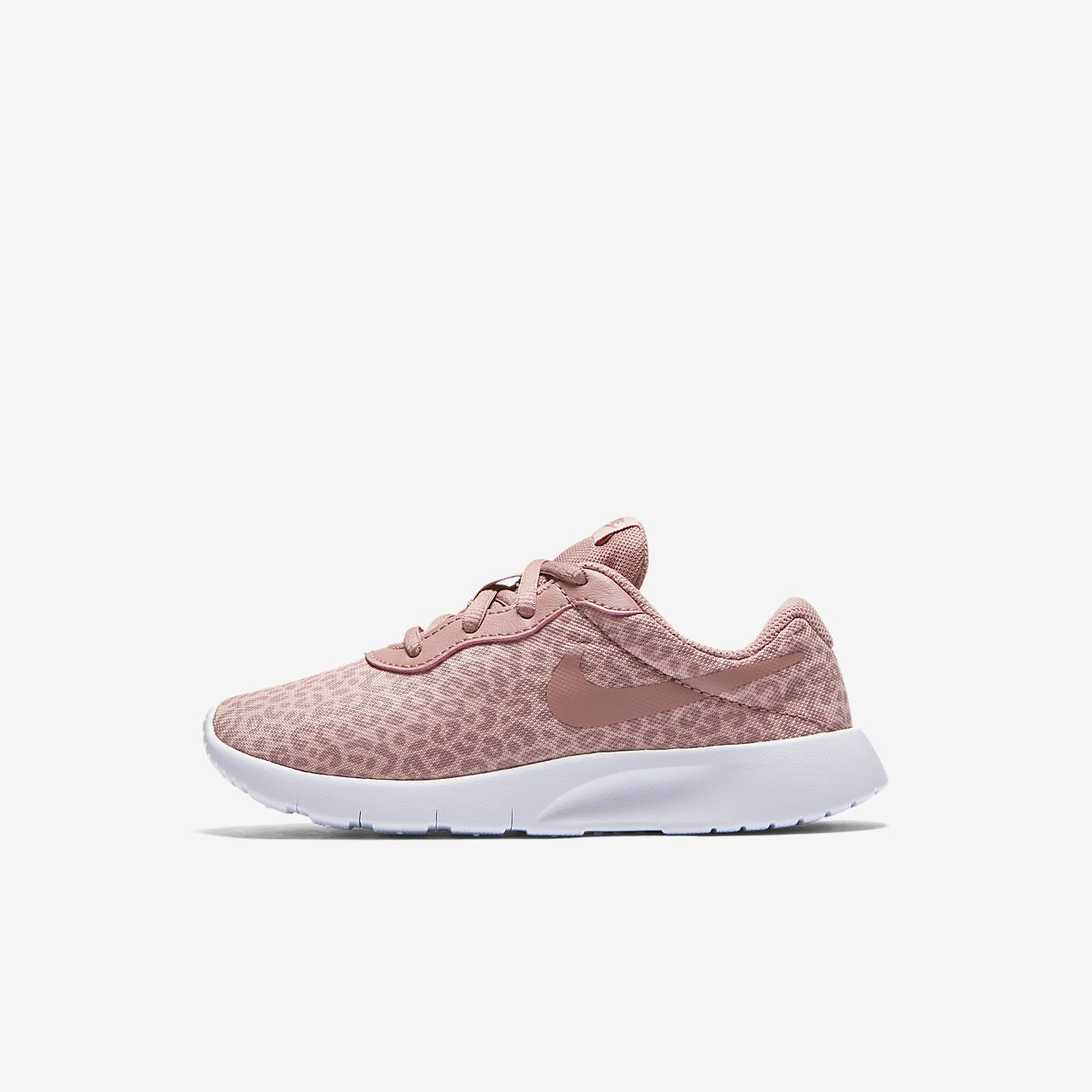 Nike Tanjun Print Boys Lifestyle Shoes White/Pink eT9166I