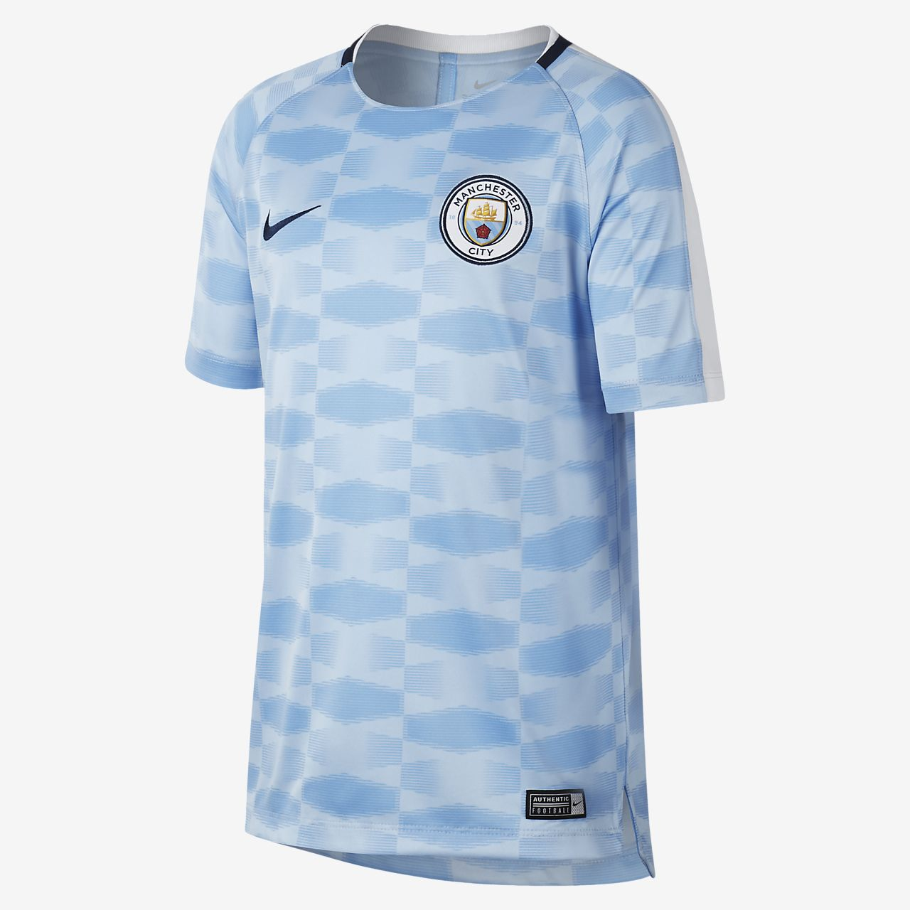 ... Manchester City FC Dri-FIT Squad Older Kids' Football Top