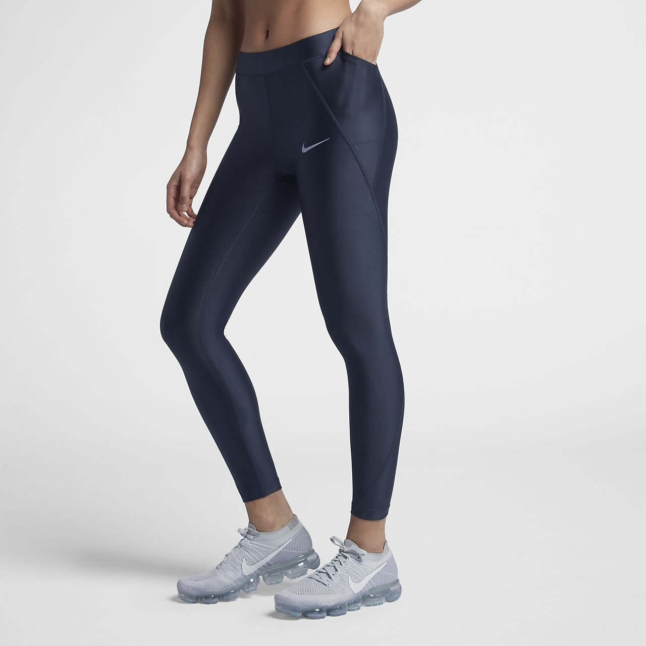 purchase cheap 32859 6ede8 ... Löpartights Nike Speed i 7 8-längd med mellanhög midja för kvinnor