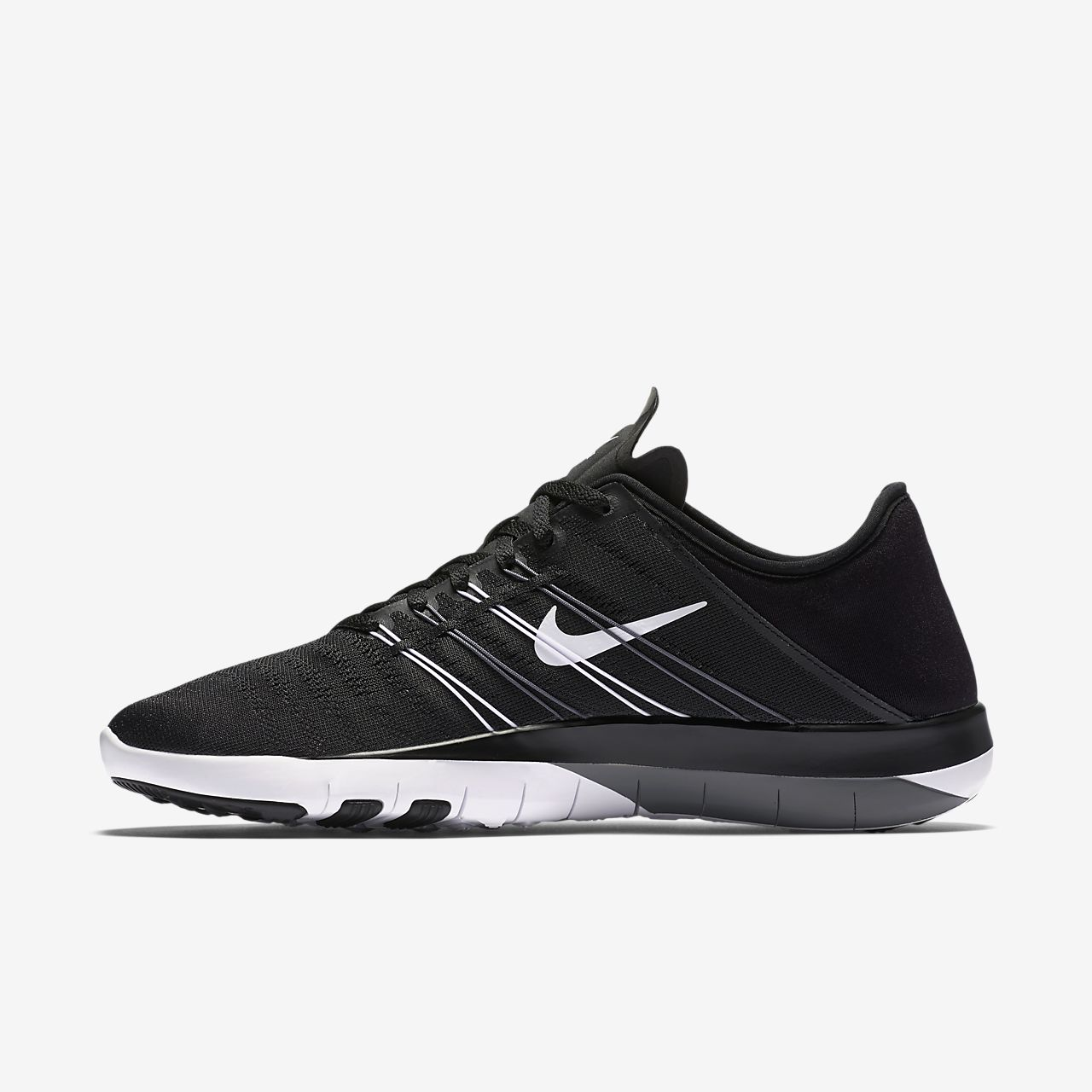 Marques Chaussure femme Nike femme Wmns Nike Free Tr 6 Black/White-Cool Grey
