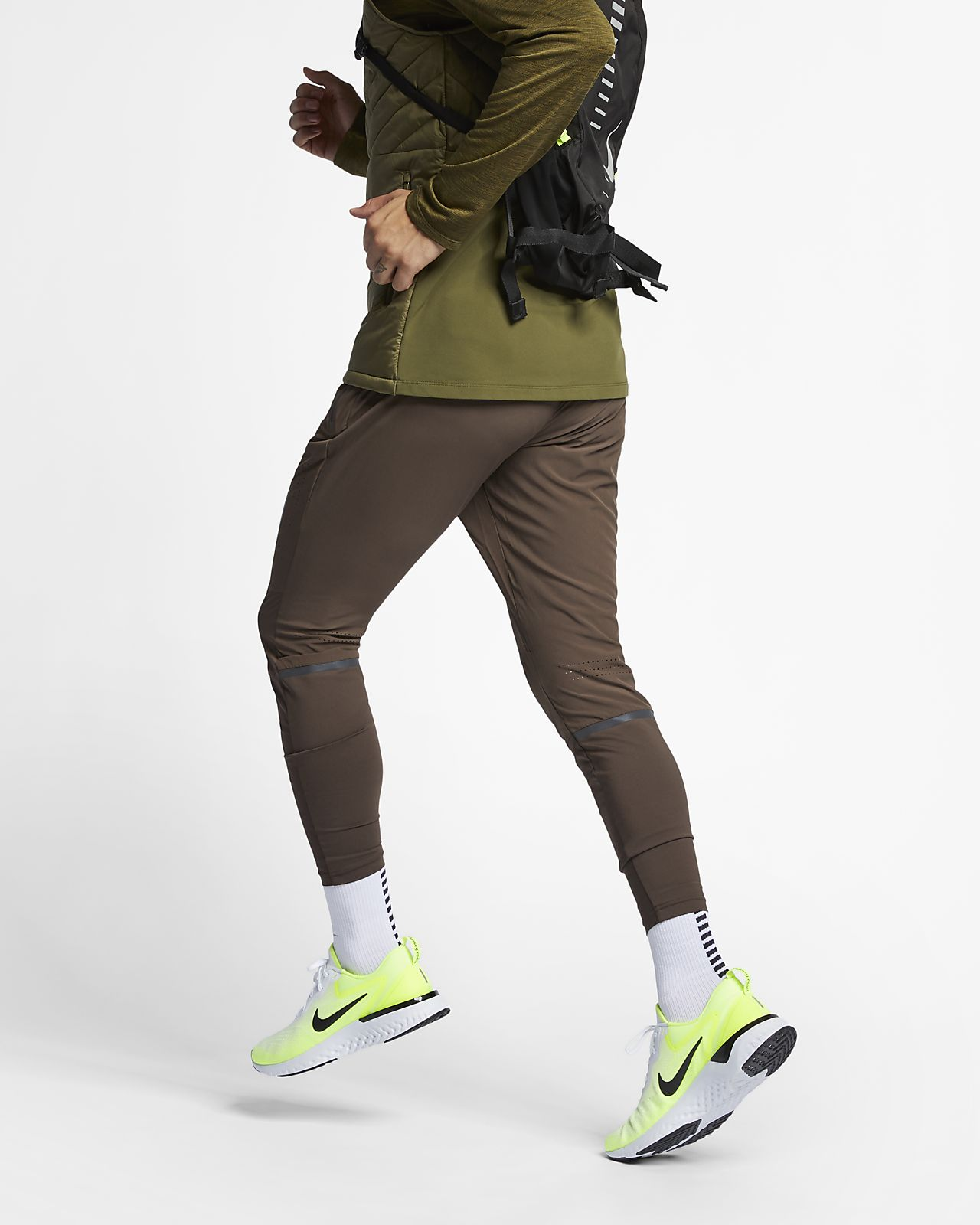 Męskie spodnie do biegania Nike Swift