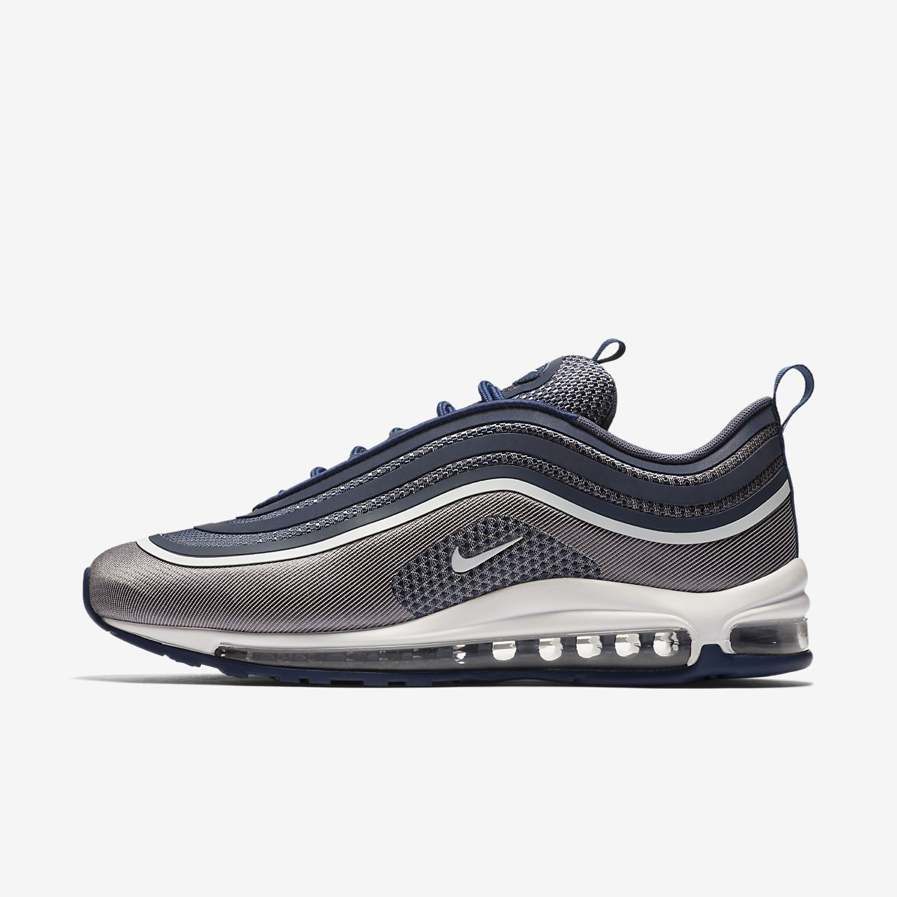 Nike Air Max '97 Women's Running Shoes Metallic Silver/Varsity