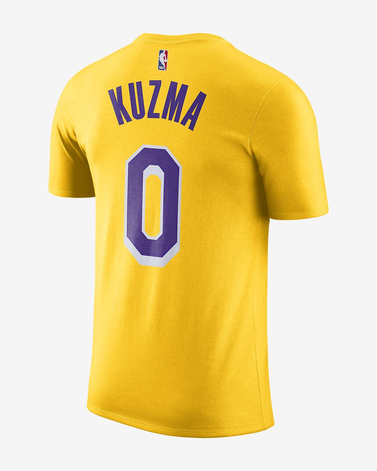 new products 76274 98b3a Kyle Kuzma Los Angeles Lakers Nike Dri-FIT Men's NBA T-Shirt