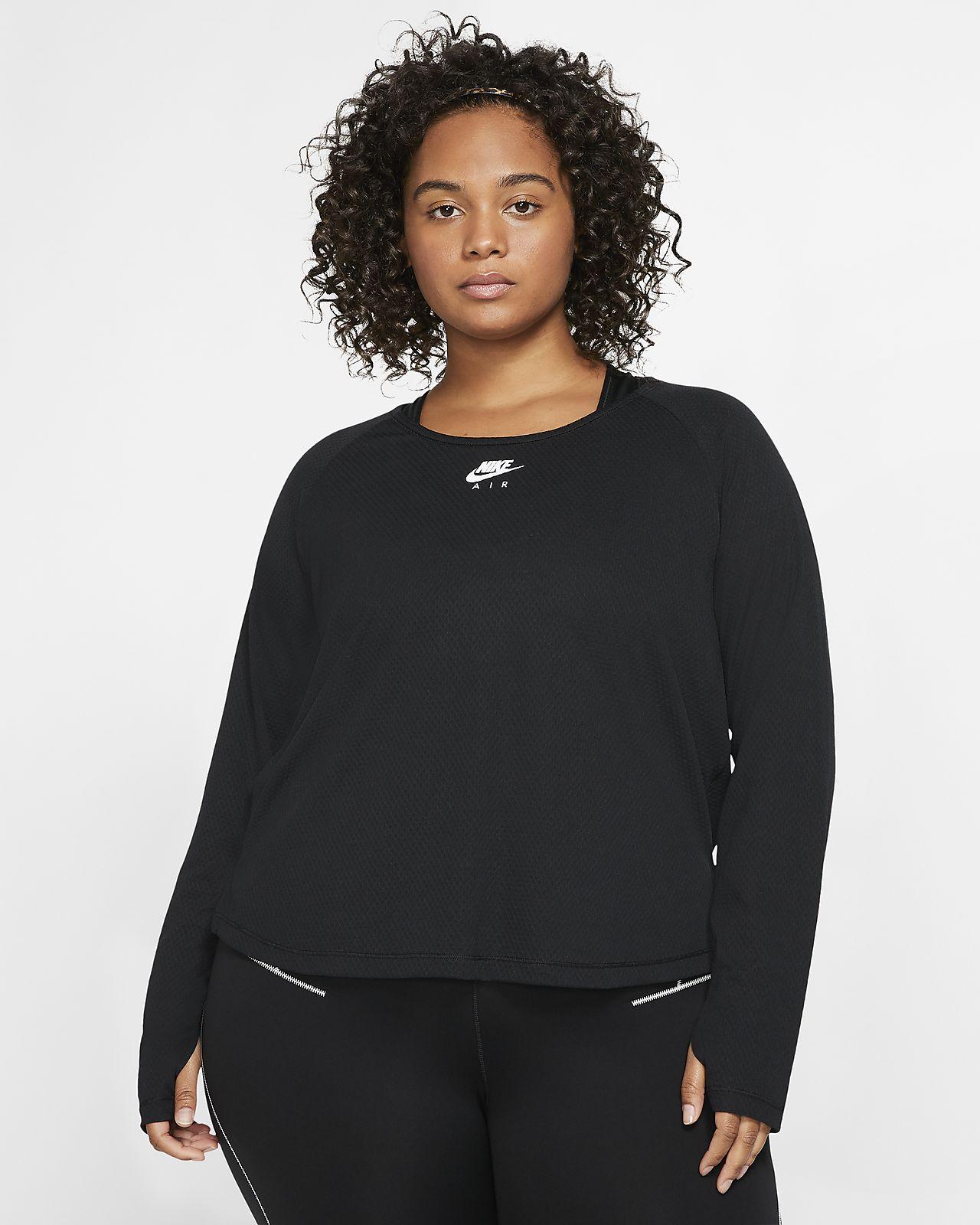 Nike Women's Long-Sleeve Running Top (Plus Size)