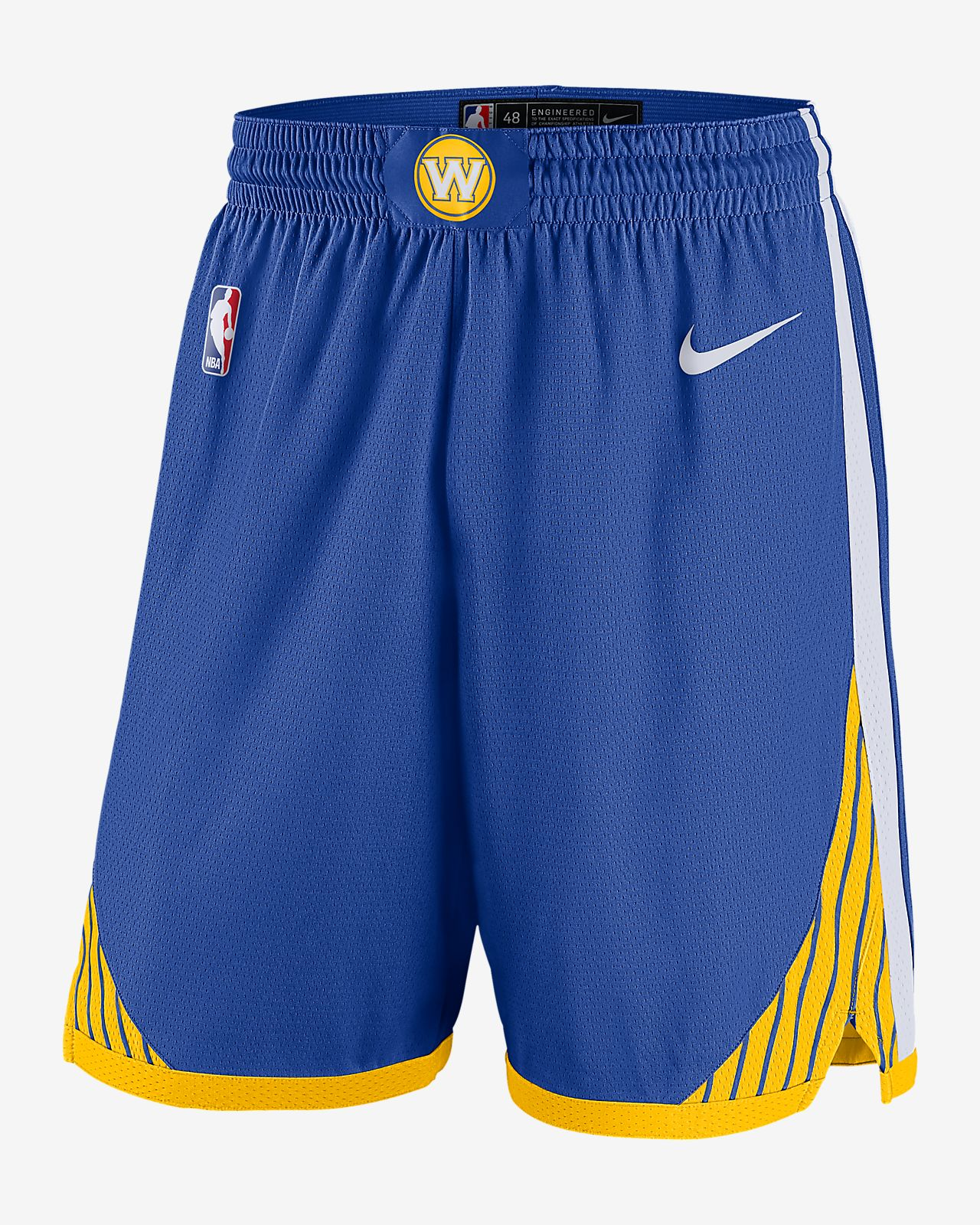 b3ea20ded05 Golden State Warriors Icon Edition Swingman Men s Nike NBA Shorts ...