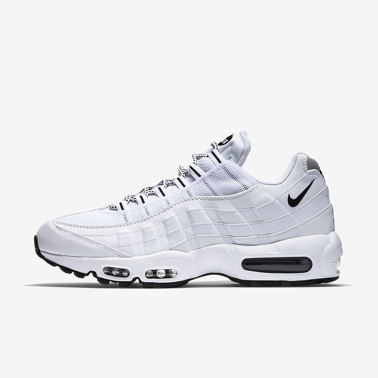 nike 95 air max black and white nz