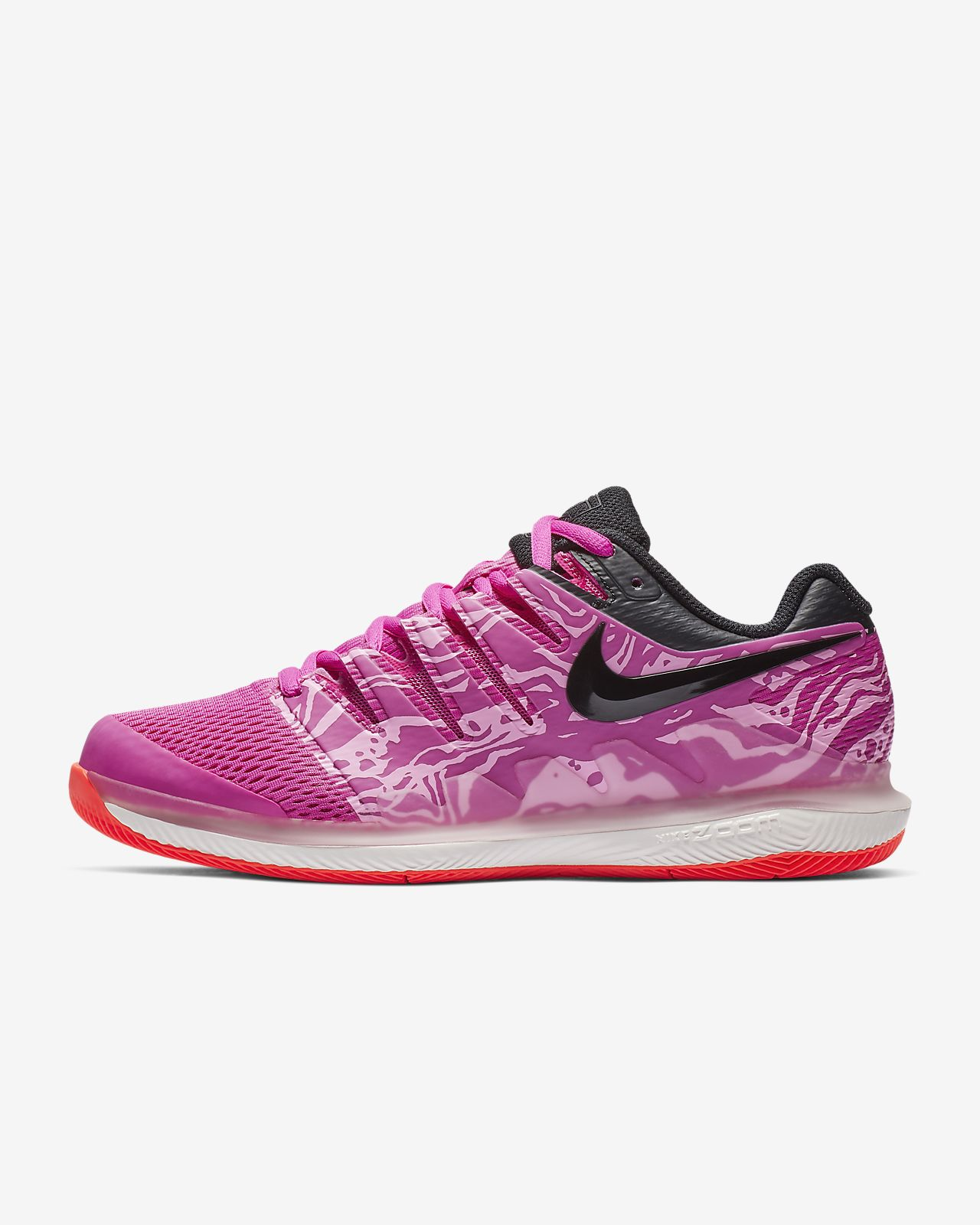 NikeCourt Air Zoom Vapor X-hardcourt-tennissko til kvinder. Nike.com DK 6445d910b