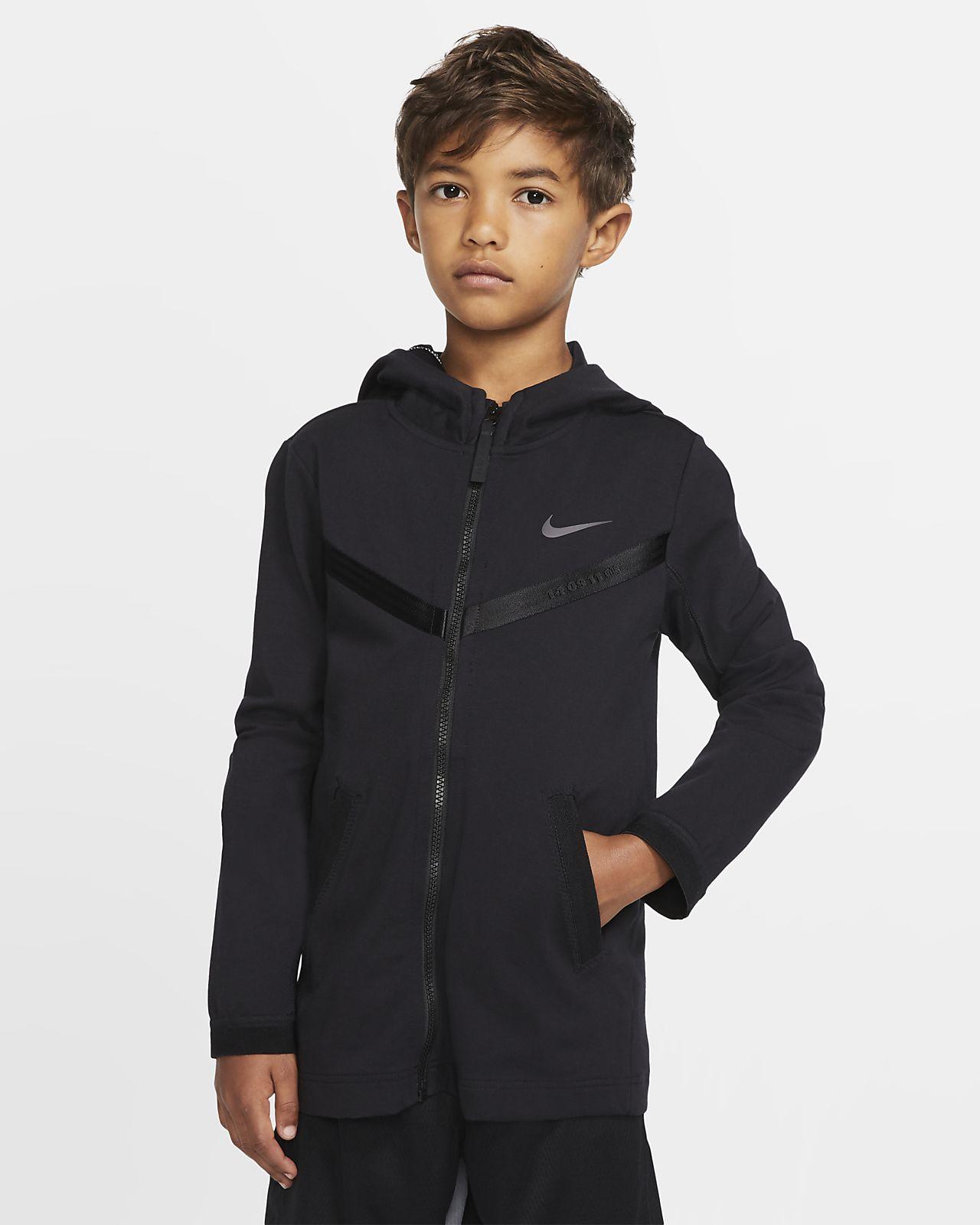 Nike Sportswear Tech Pack Older Kids' Full-Zip Hoodie