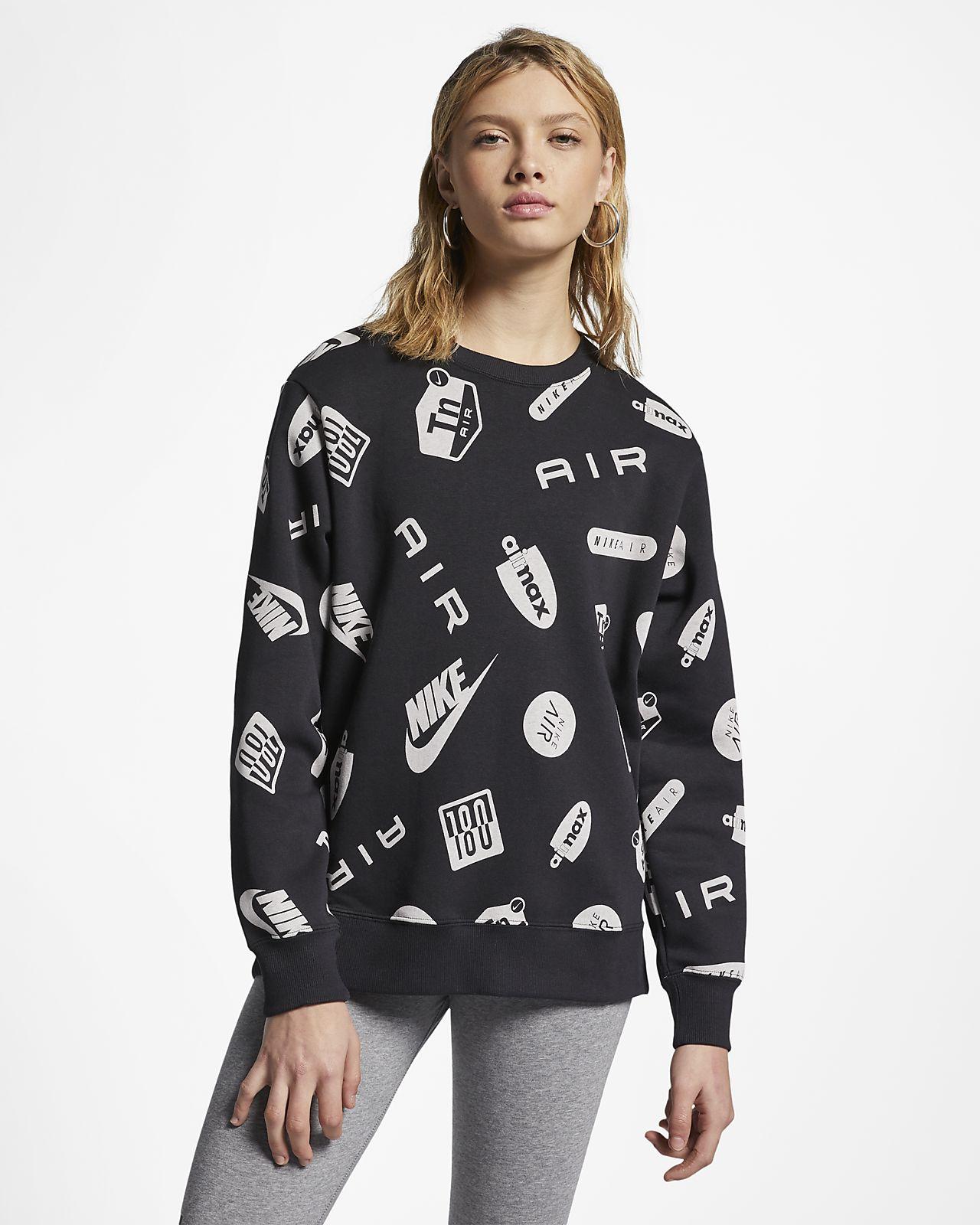 Nike Air Max mønstret genser til dame