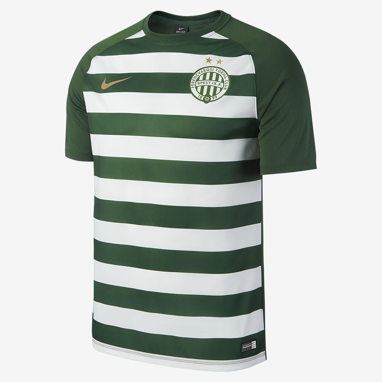Camiseta de fútbol para hombre Ferencvarosi TC de local para aficionados, temporada 2017/18