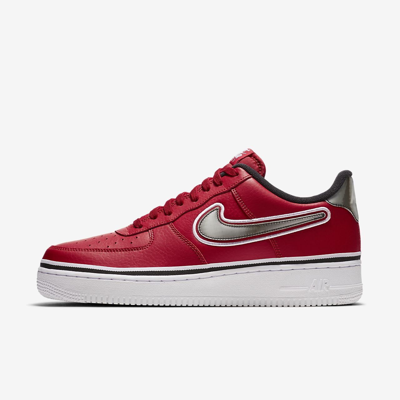 new concept 1597b 37ca7 ... Chaussure Nike Air Force 1 NBA Low (Chicago Bulls) pour Homme