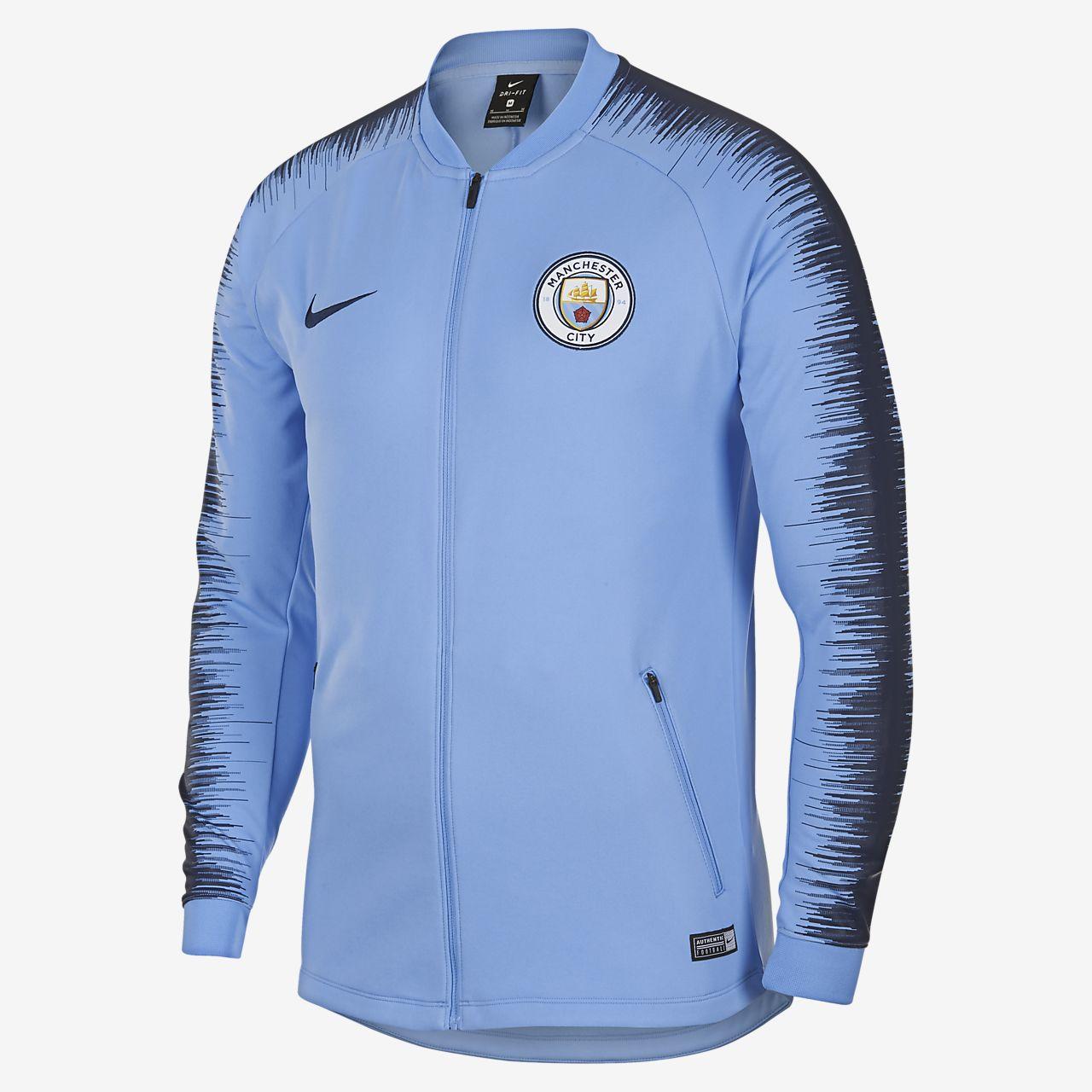 Manchester City FC Anthem Men s Football Jacket. Nike.com NO 7535aa101