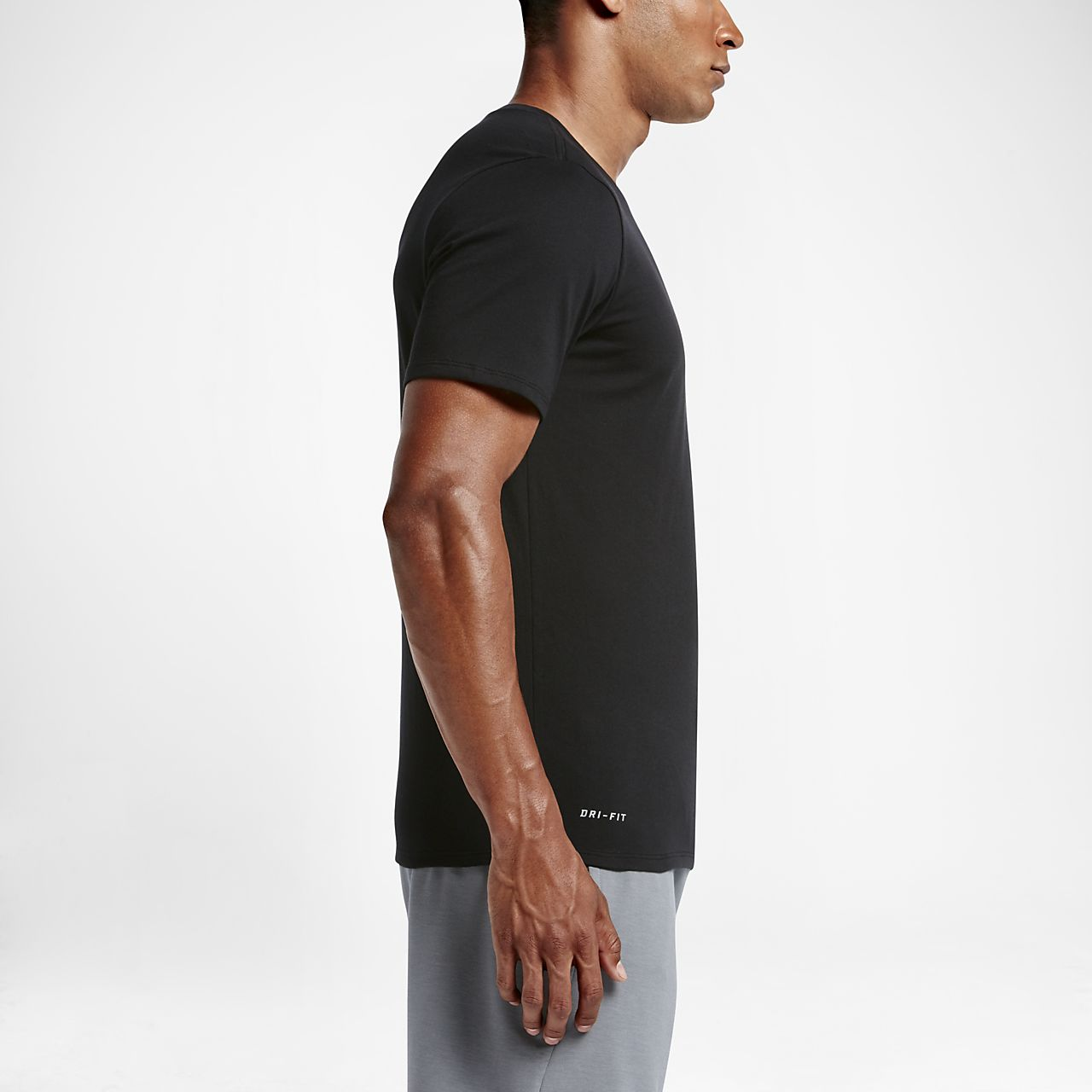 Tee shirt de training à manches courtes Nike Dri FIT pour