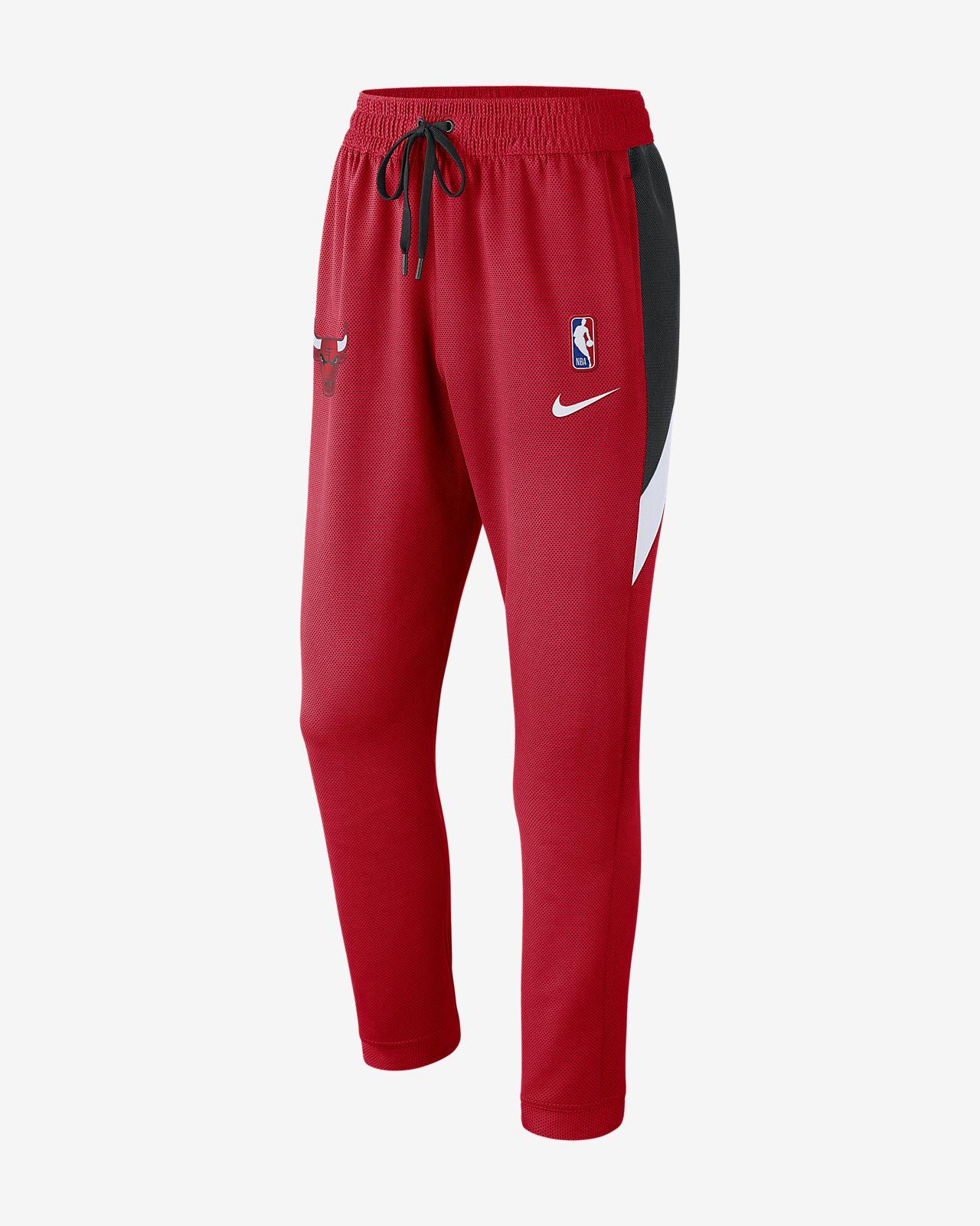 Мужские брюки НБА Chicago Bulls Nike Therma Flex Showtime