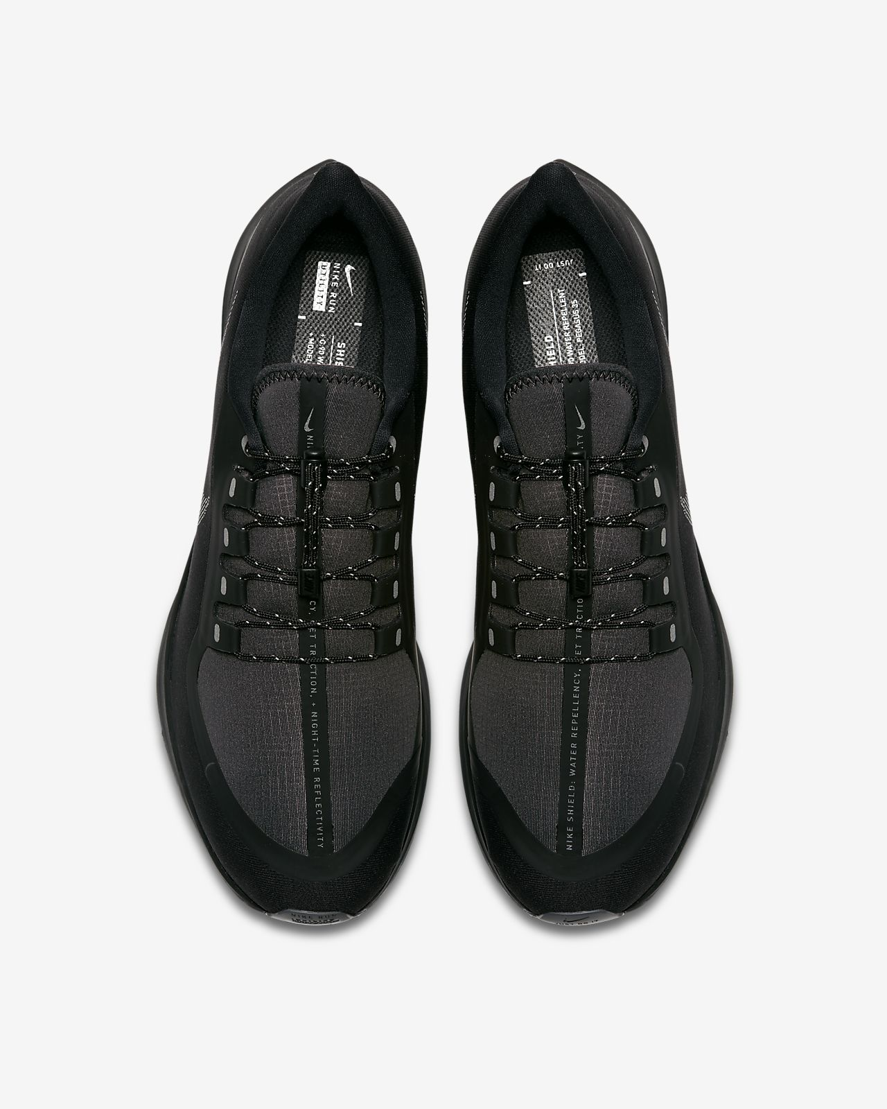 c5f15925d2e80 Nike Air Zoom Pegasus 35 Shield Water-Repellent Men s Running Shoe ...