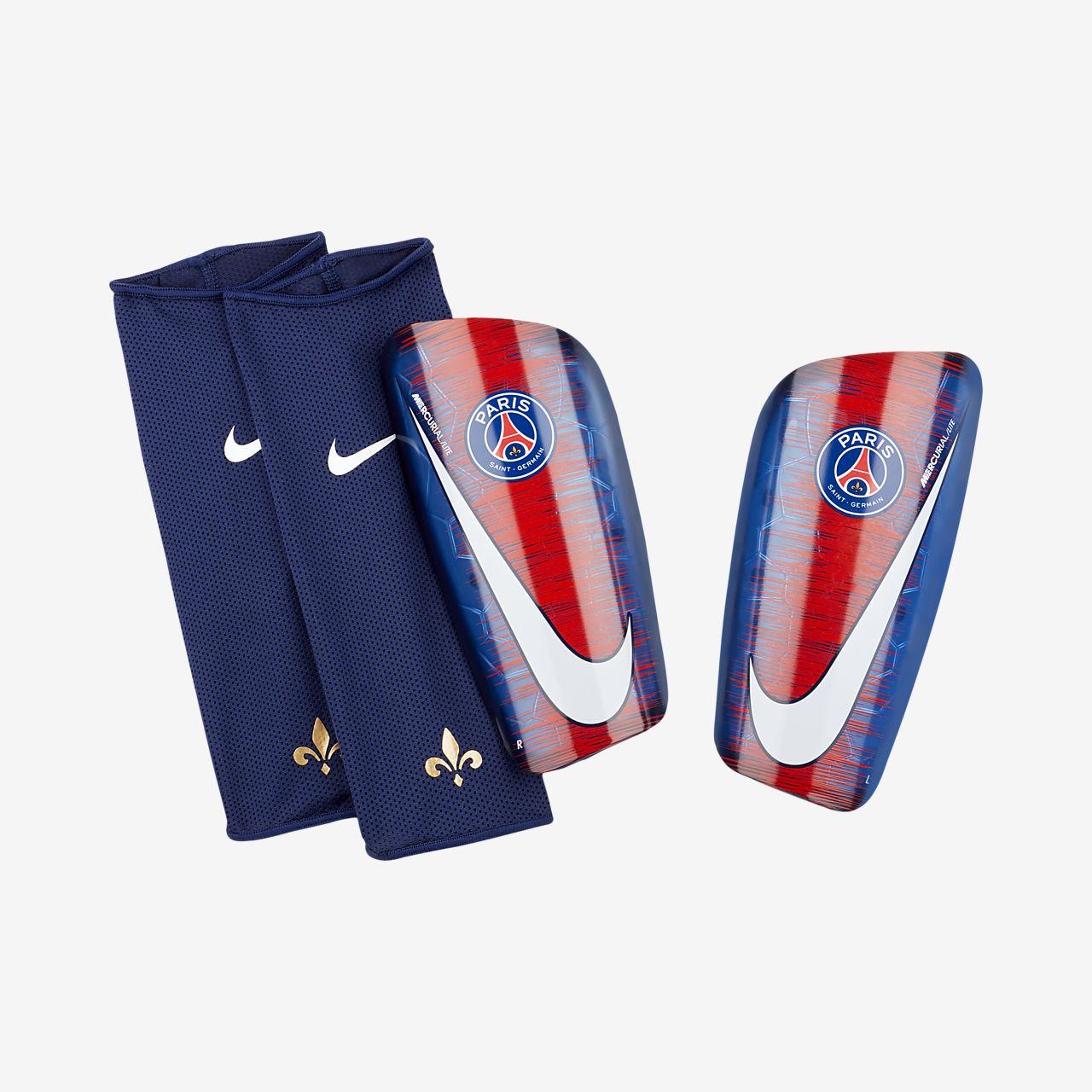 3bbab9fcecb Protège-tibias de football Paris Saint-Germain Mercurial Lite. Nike ...