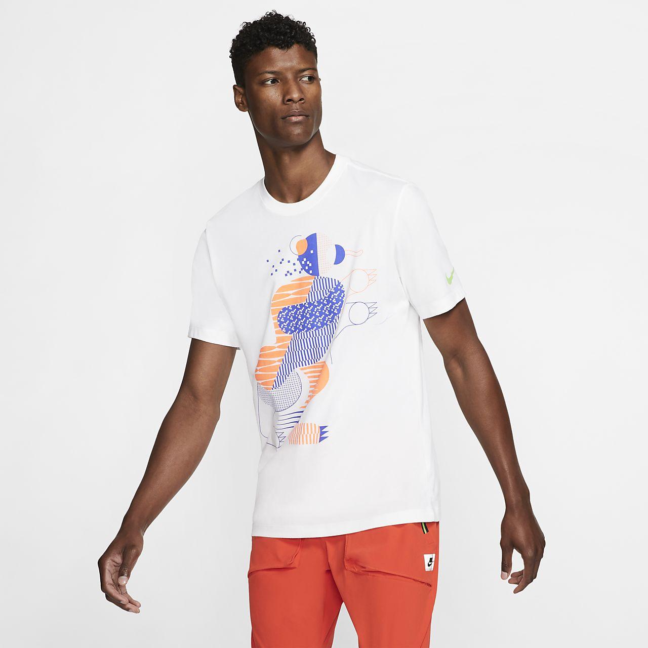 Nike Dri FIT Berlin løbe T shirt til mænd